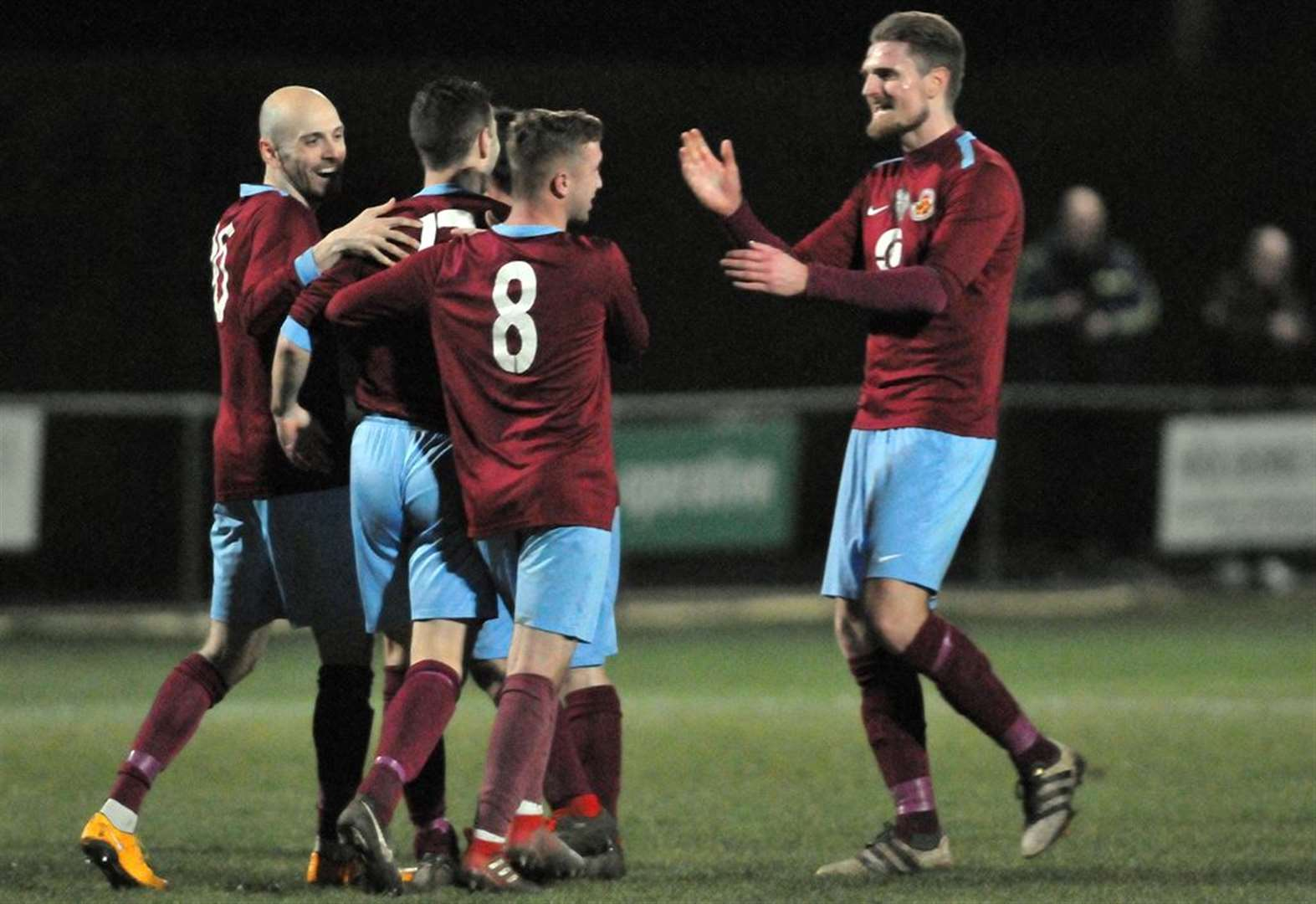 FOOTBALL: Clarets claim cup final spot after hitting league leaders for six