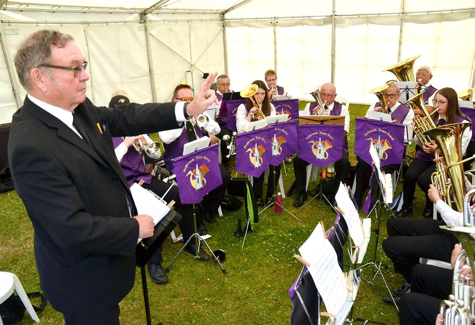 HOLBEACH PARISH COUNCIL: Relief for town band with new long-term lease