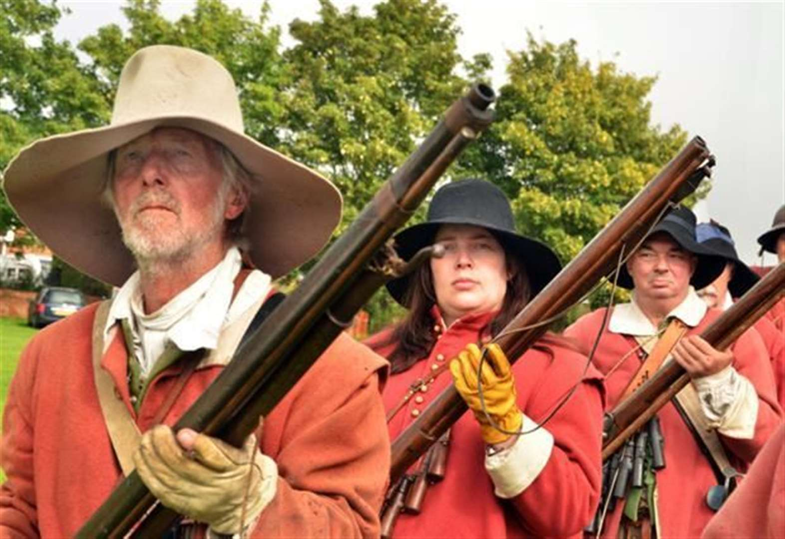 Step into history at thrilling re-enactment weekend in Sutton St James