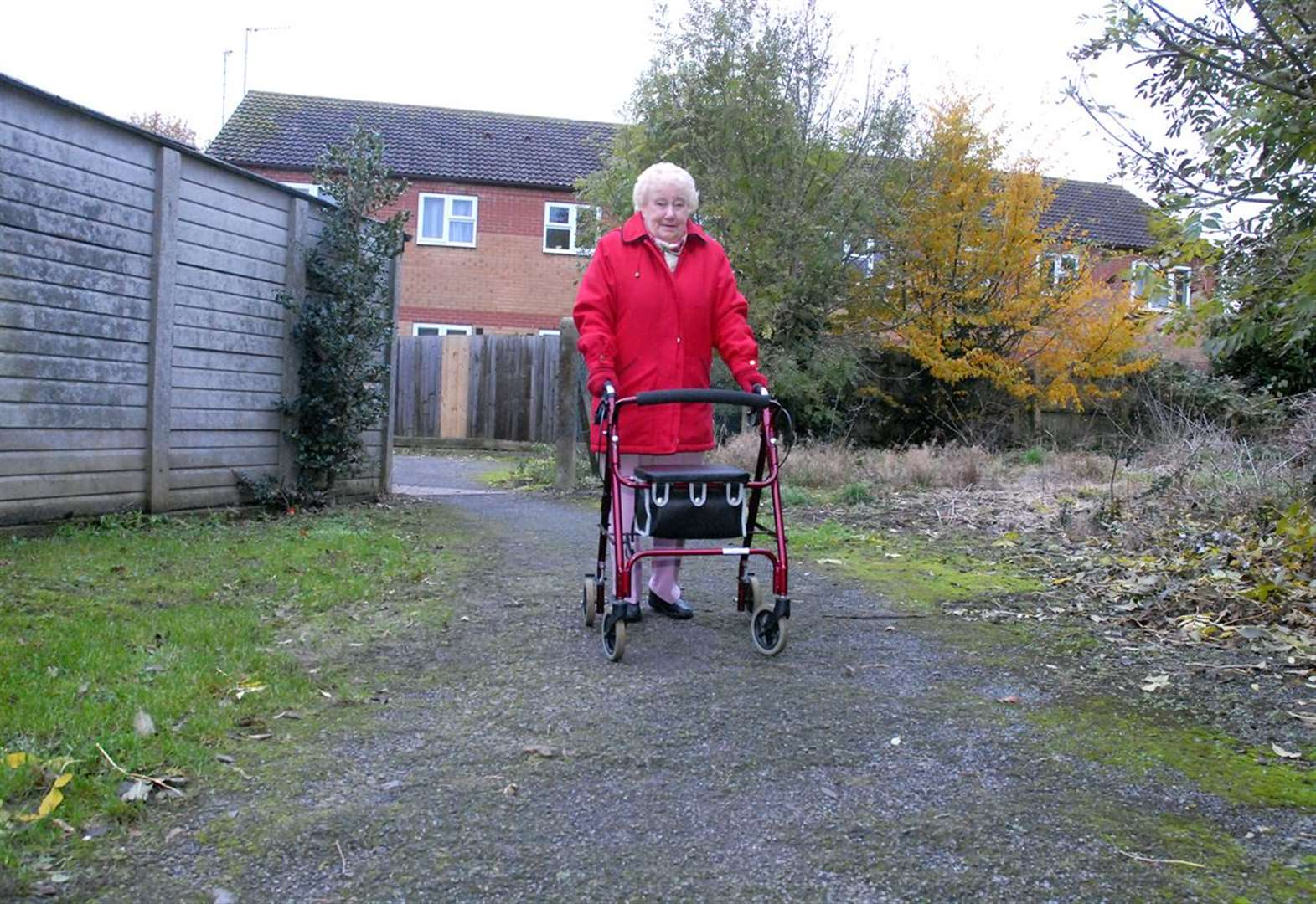 'Lane where pensioners are suffering falls must be resurfaced'