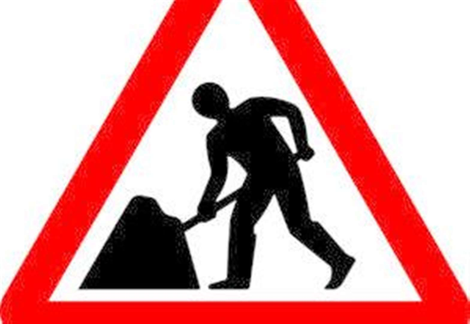 Contractors busy on the A16