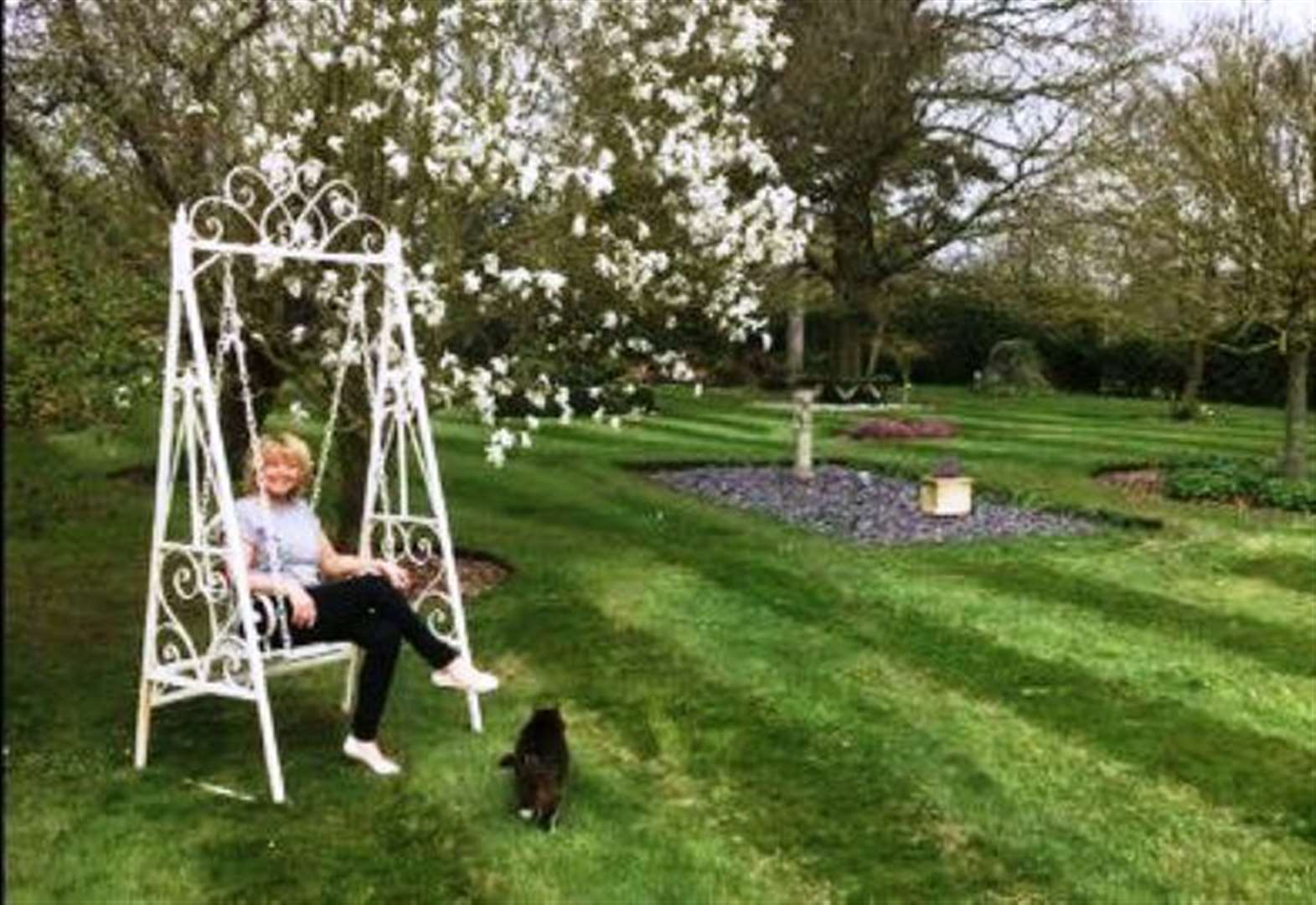 BUSINESS: Steph's life change from moggies to garden hire