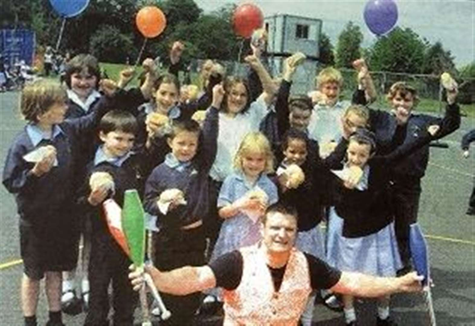 NOSTALGIA: 146 balloons released as part of celebrations 10 years ago