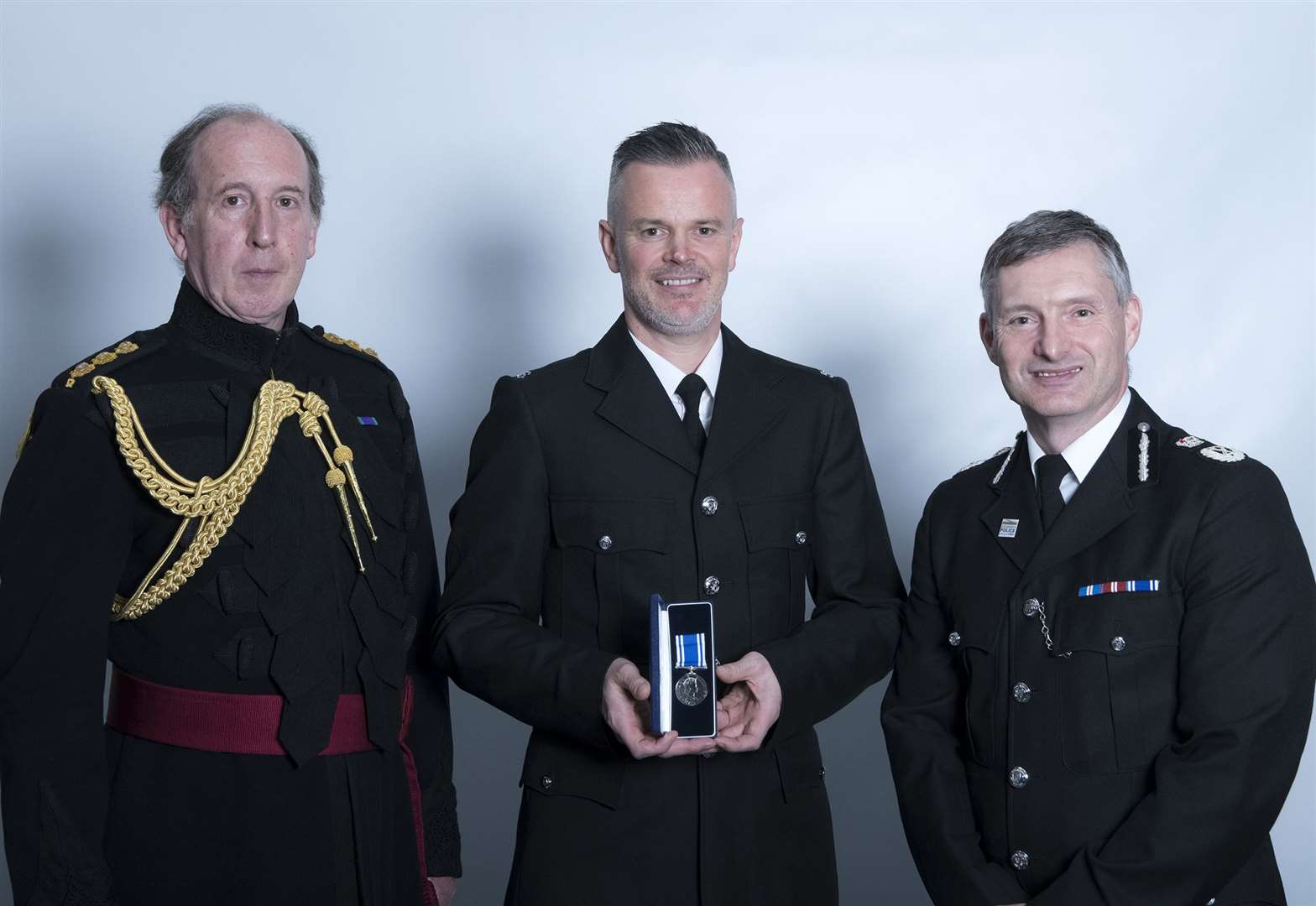 Local officers honoured at police awards