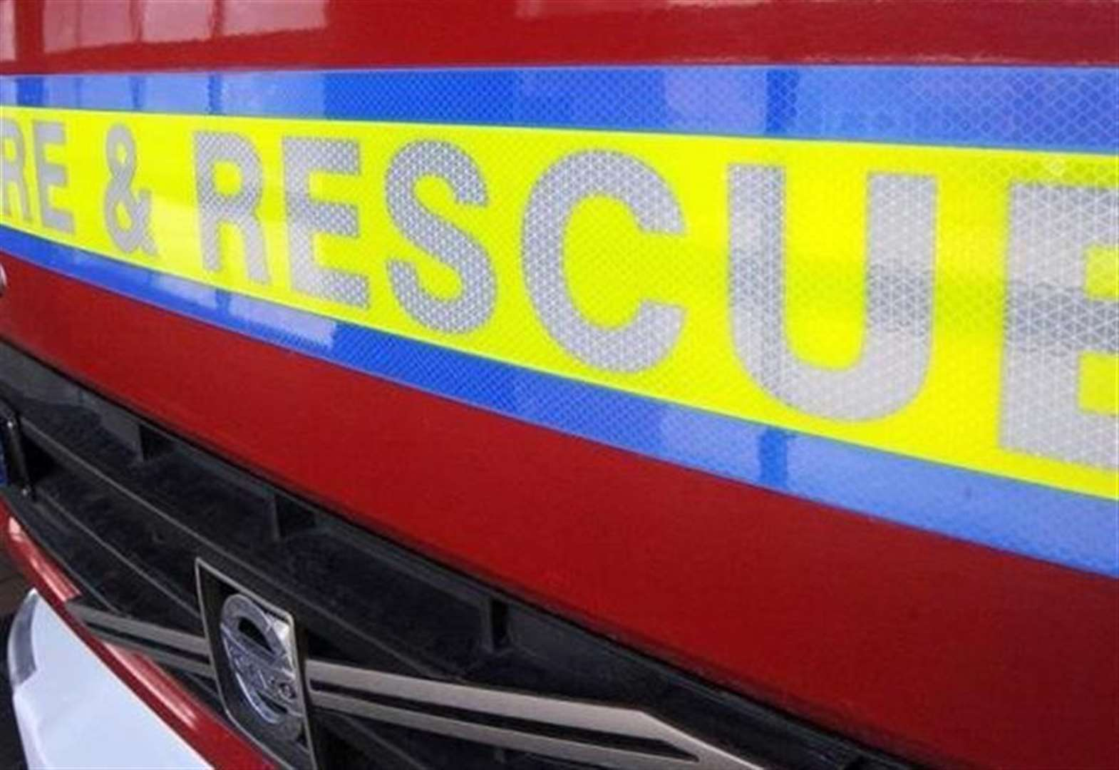 Firefighters attend two vehicle collision