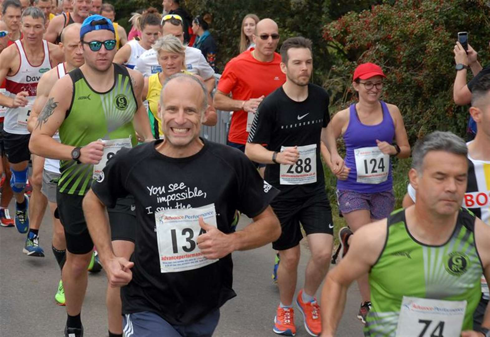 PHOTO GALLERY: Fantastic feedback for road race
