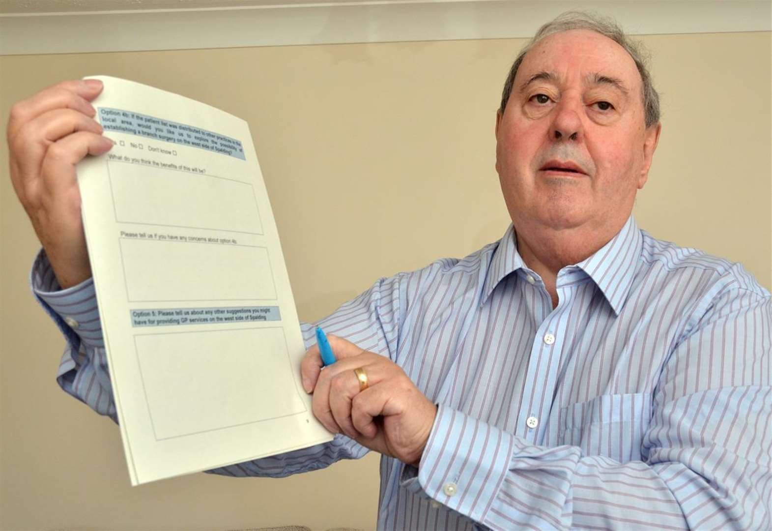 Survey affects all GP surgeries in Spalding