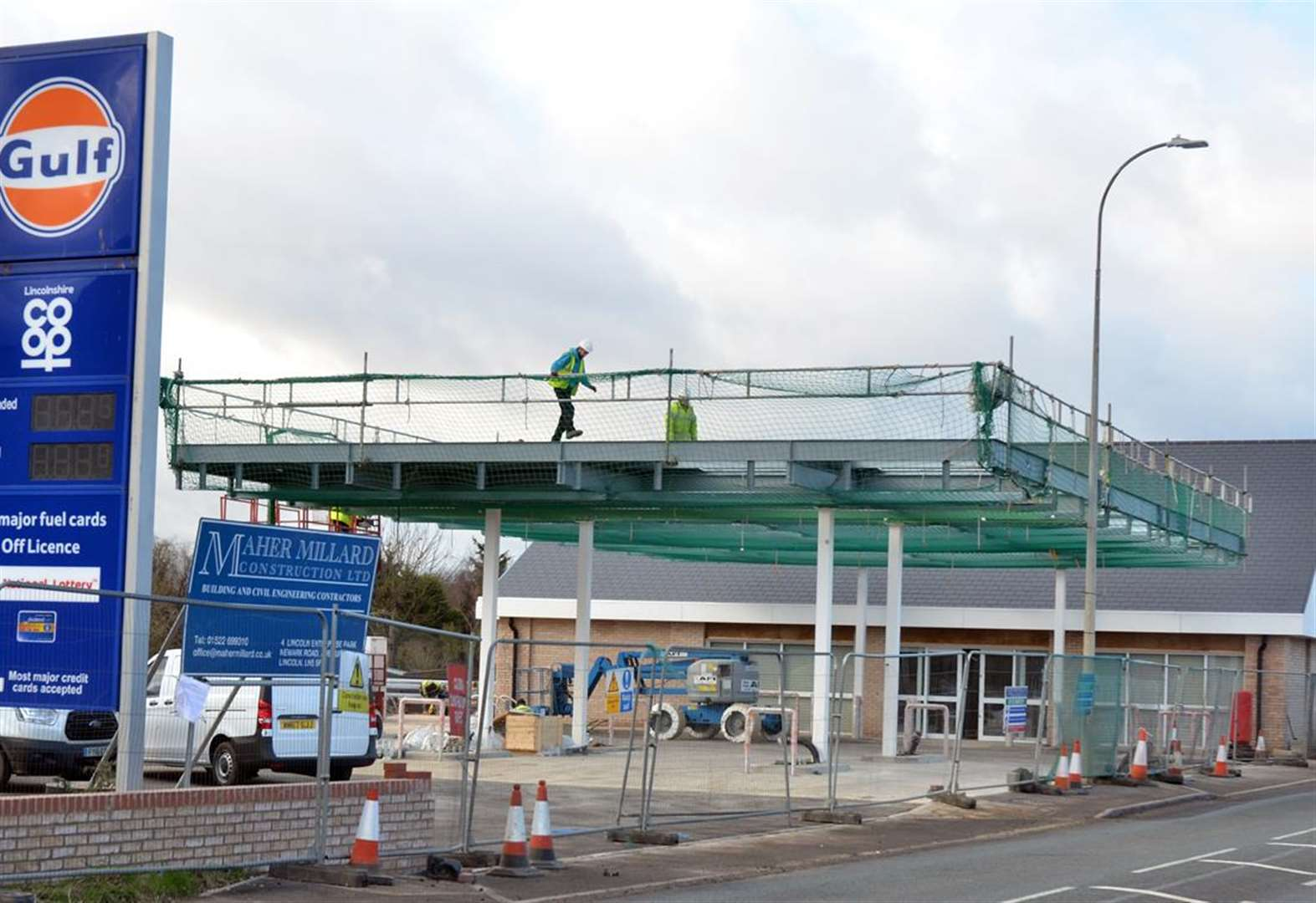 February opening for £1.6m Co-op store and filling station at Whaplode