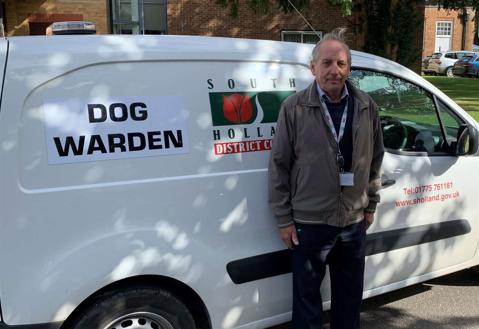 Award for care given to stray dogs in area