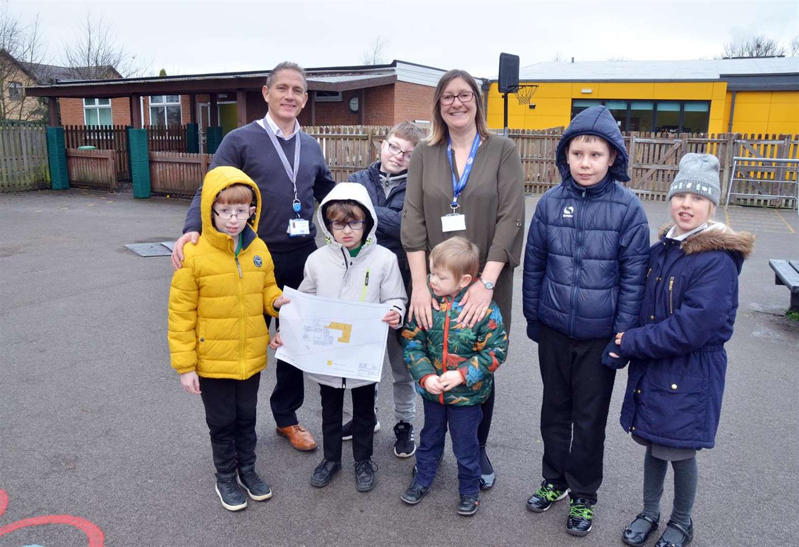 Work to start this spring on five new classrooms at Garth School