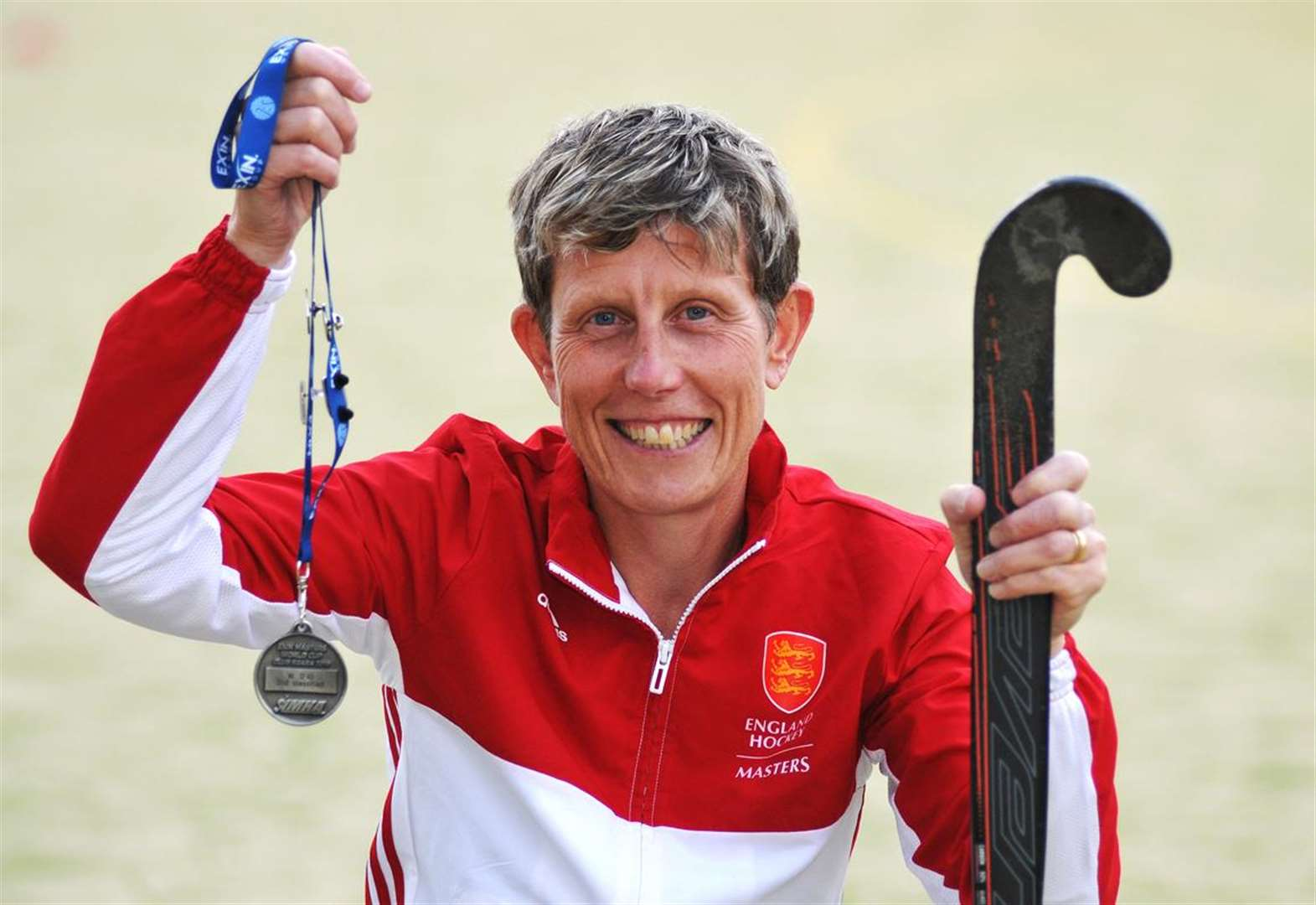 HOCKEY: Lorraine celebrates with silver medal in World Cup