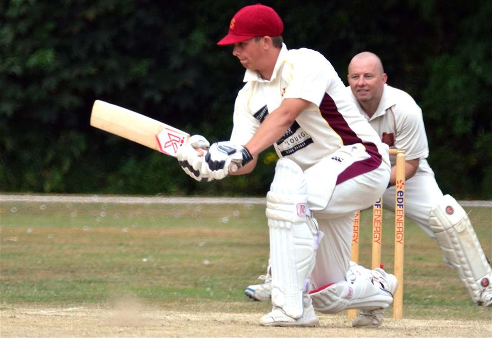 CRICKET: Joy of six for James