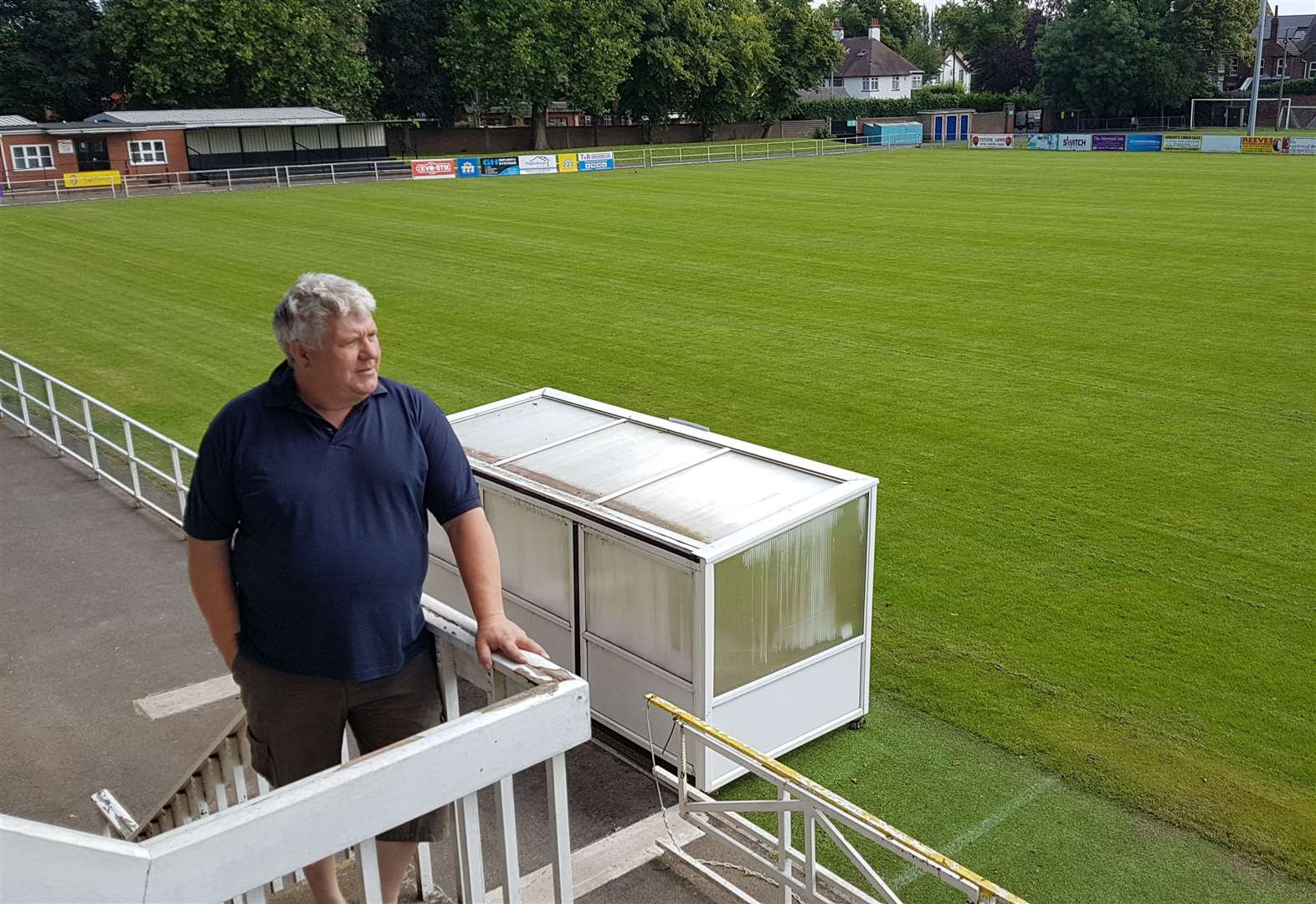 Upgrade work for Tulips' ground