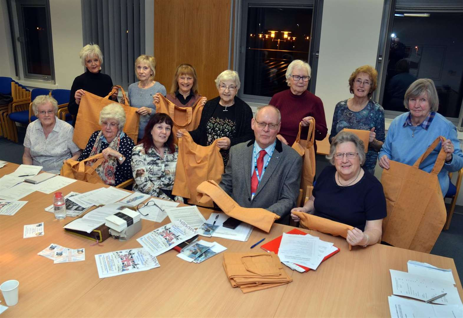 Ultrasound scanner and patients' bags donated by Friends of Spalding hospital