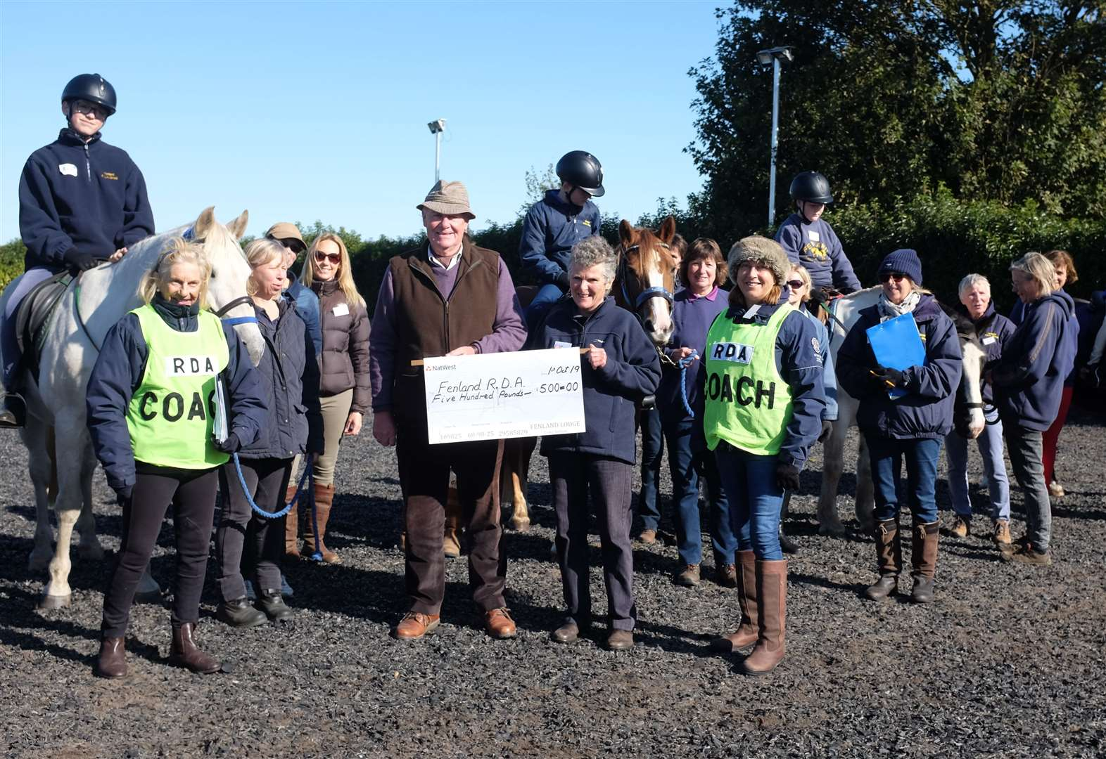 Boost for disabled riders' group