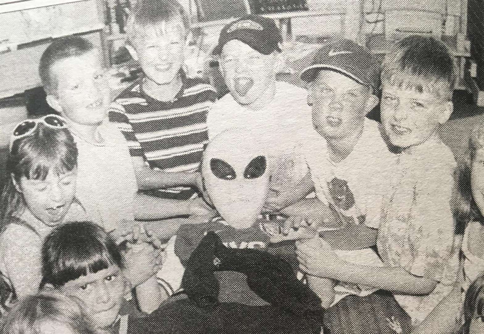 NOSTALGIA: Aliens land in Crowland in 1999