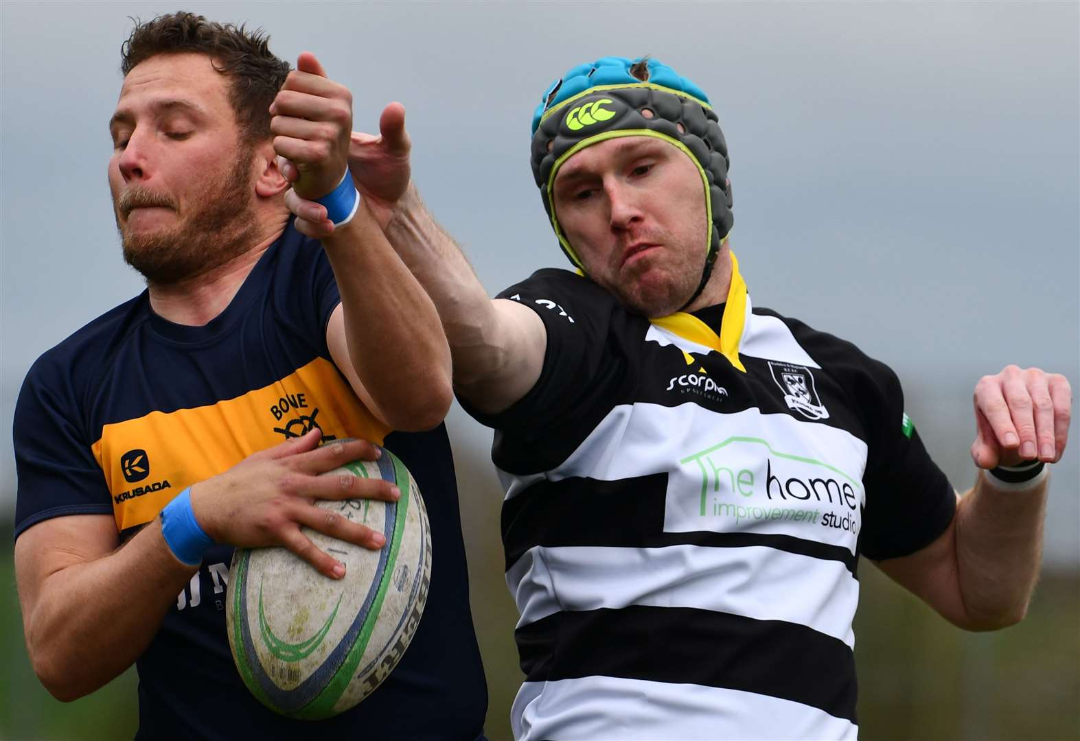 RUGBY UNION: 'Massive' win seals league safety