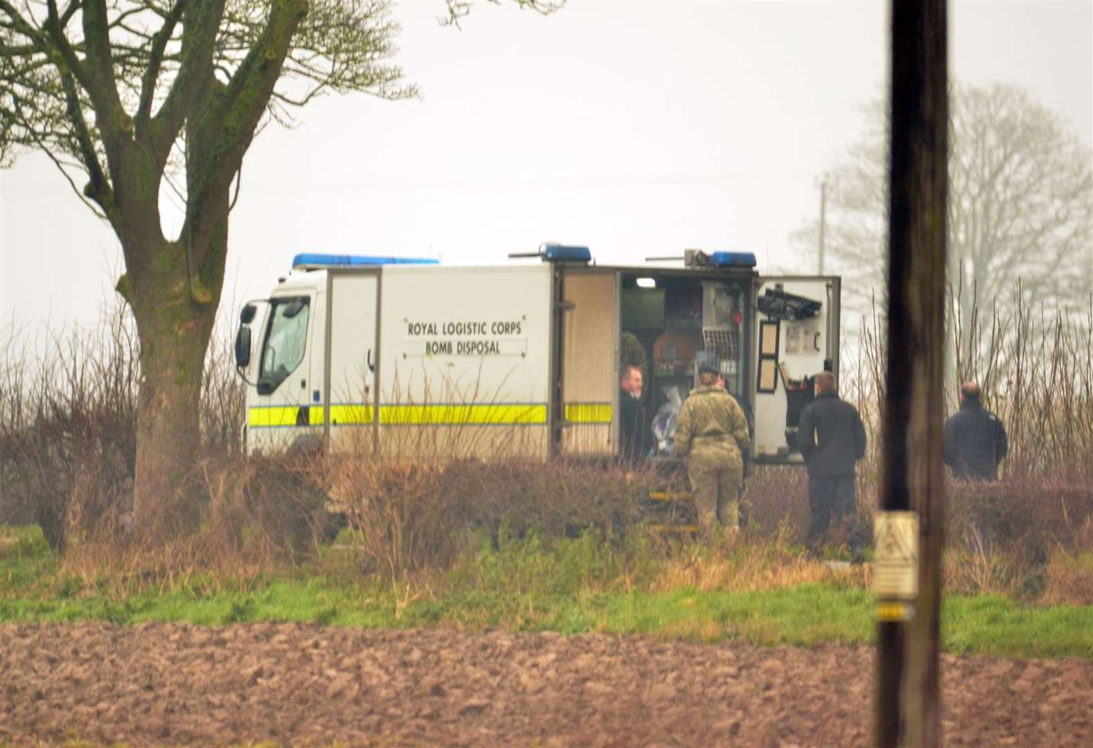 Police remain in Holbeach St Marks