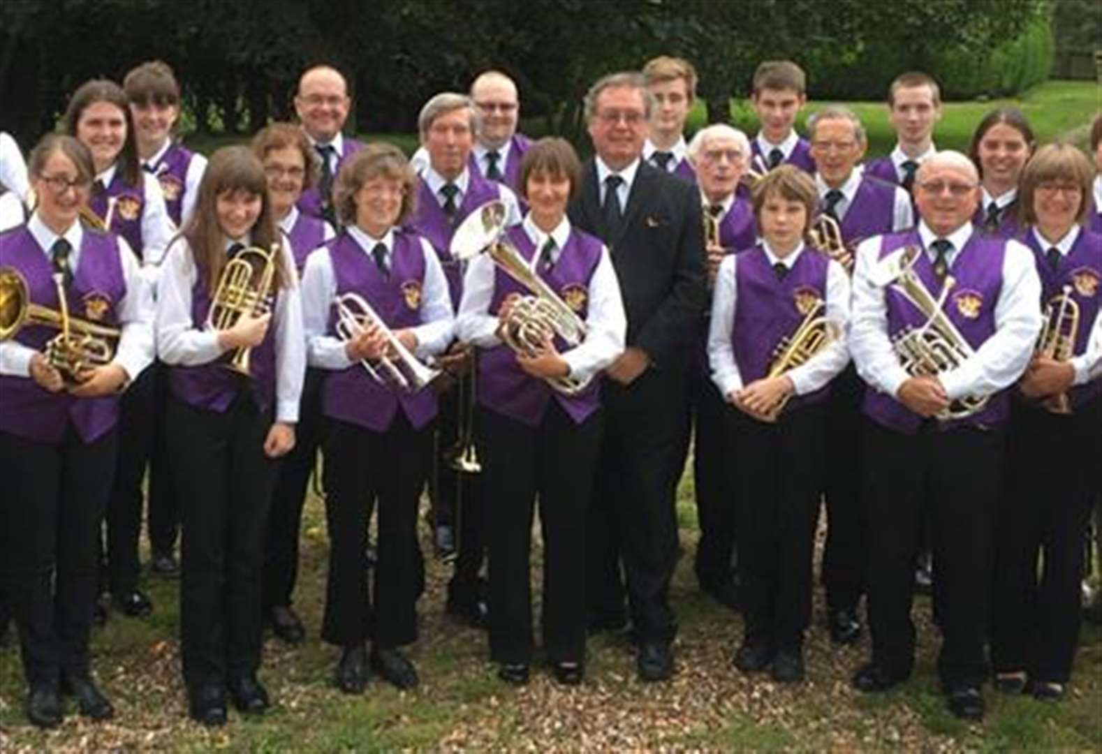Learn to play a brass instrument with Holbeach Town Band