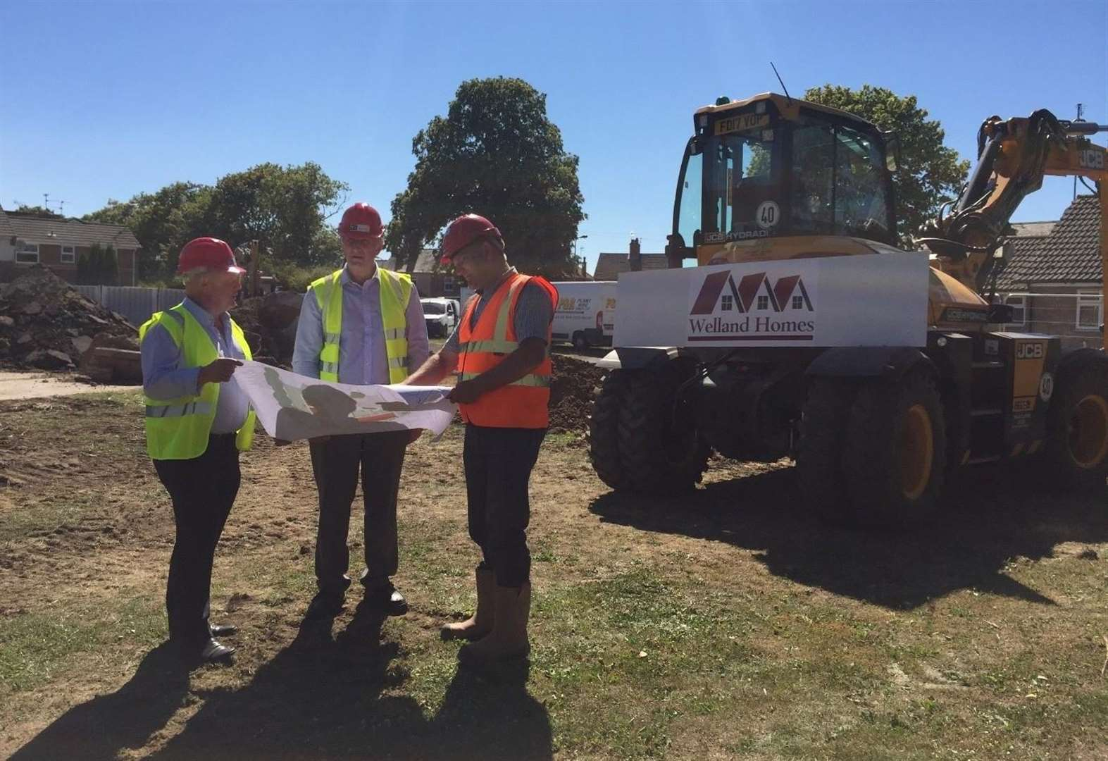 Work starts on new homes in Spalding