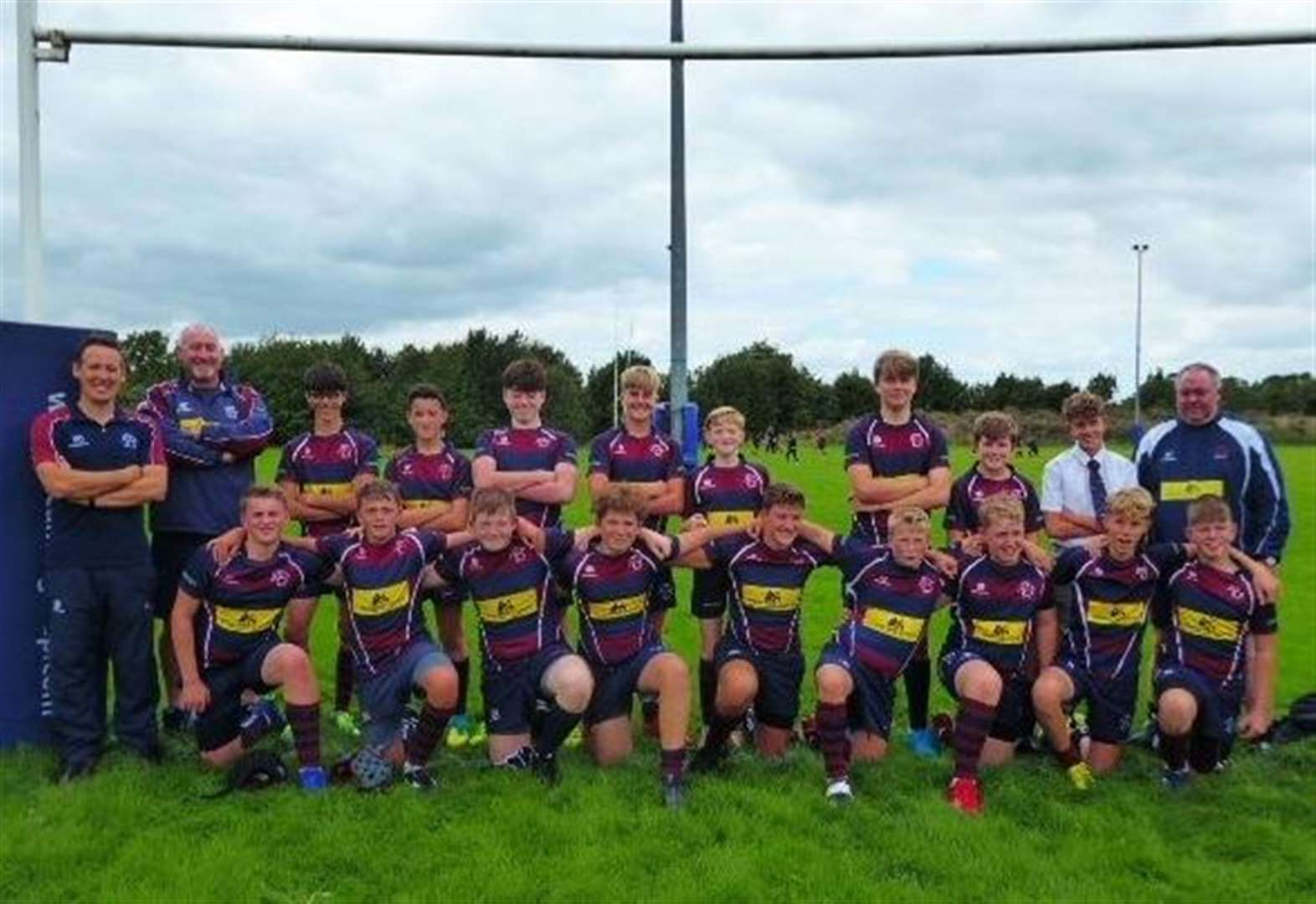 RUGBY UNION: Semi-final win for Spalding under-14s