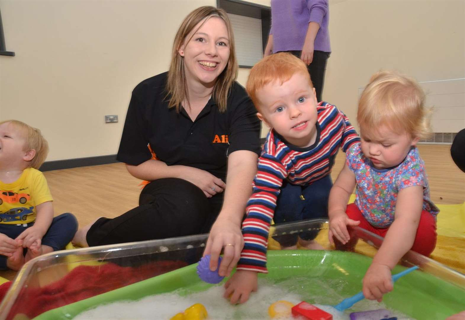 Young Spalding woman launches messy play groups