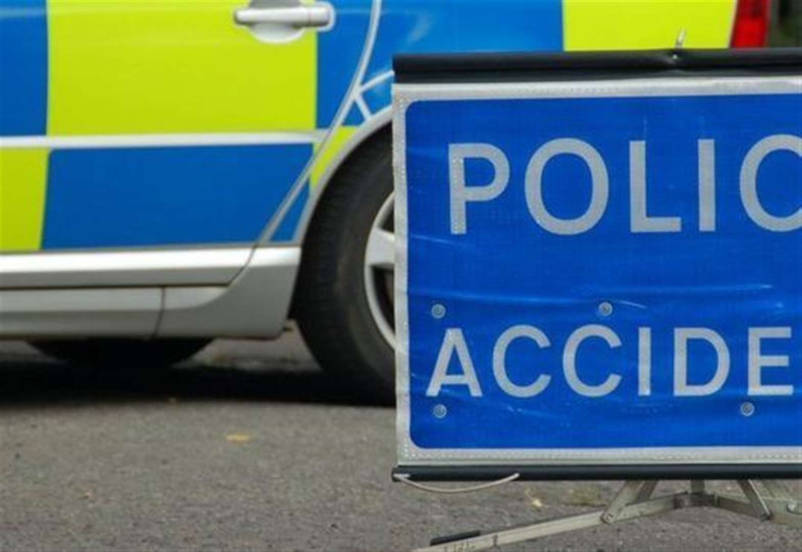 Teenager dies after car hits property