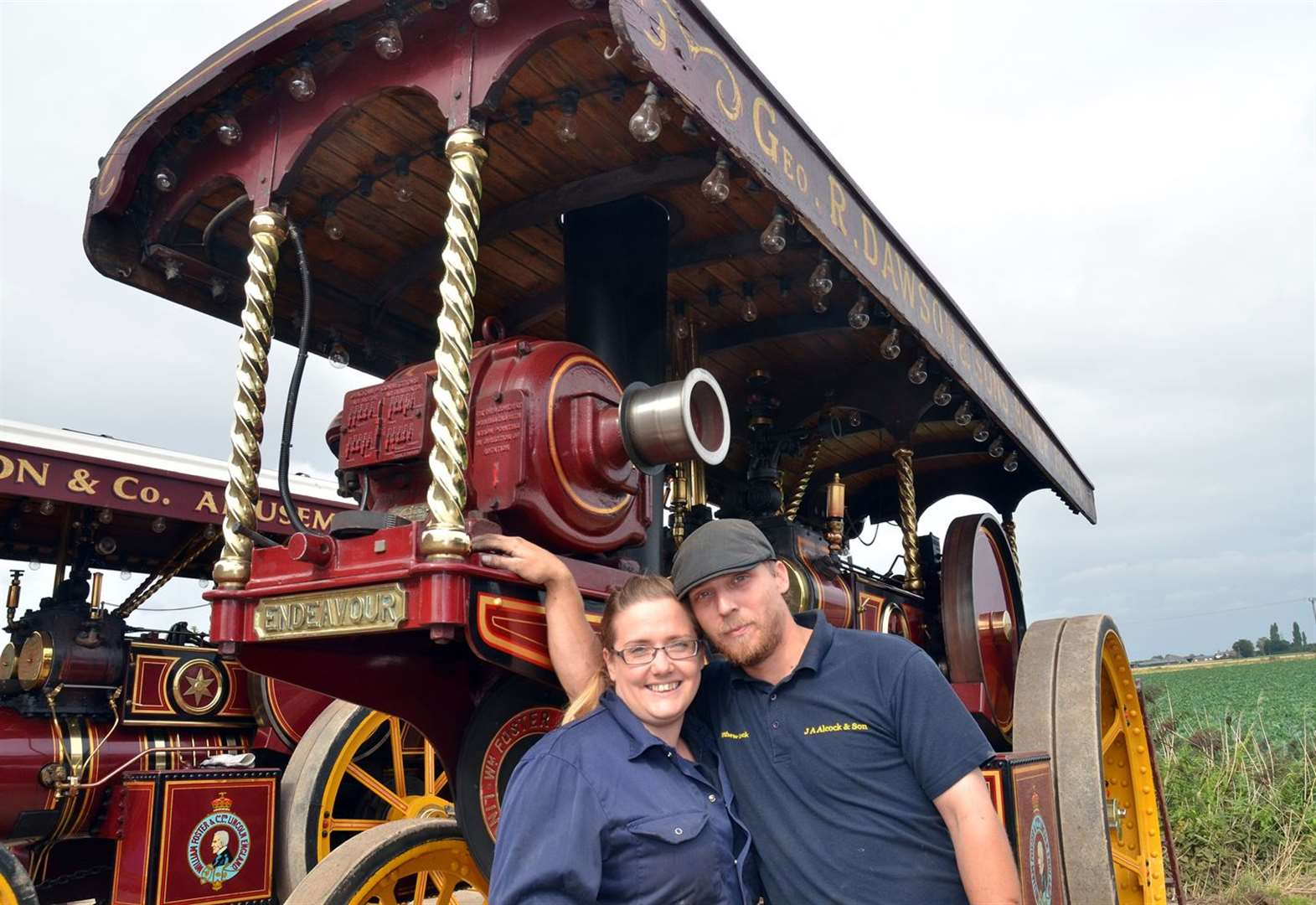 All aboard for steam threshing and classic car show