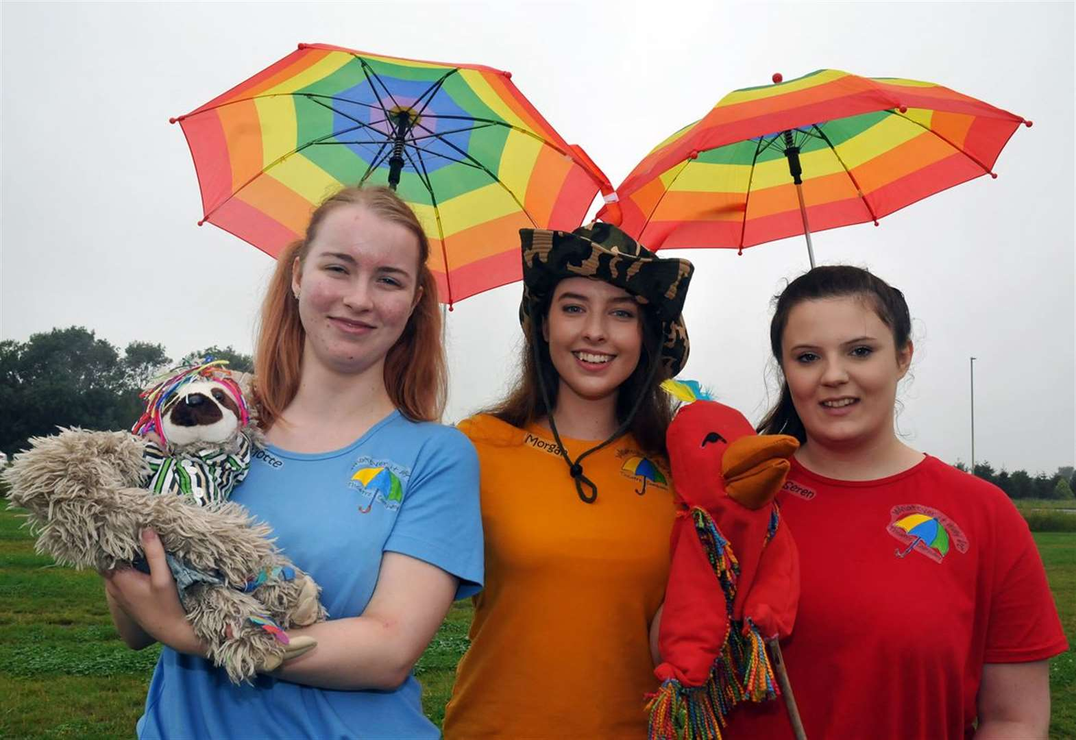 Youth theatre trio set out on their own with puppet musical