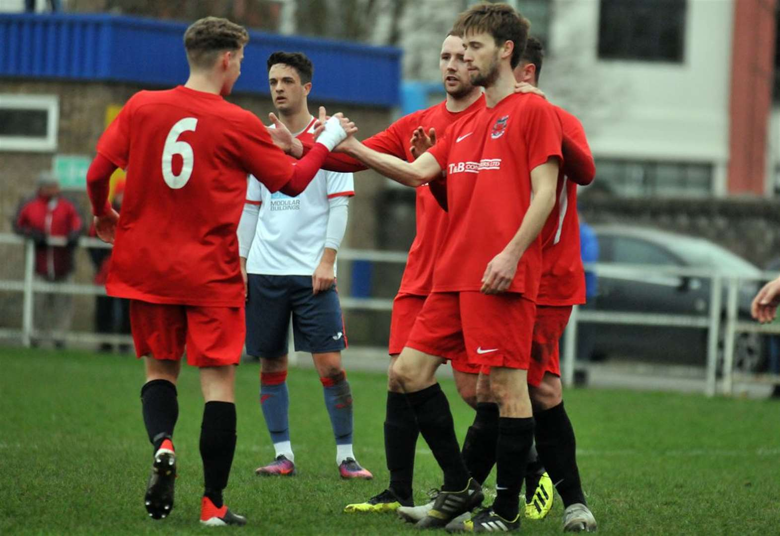 FOOTBALL: Seven up for Knights