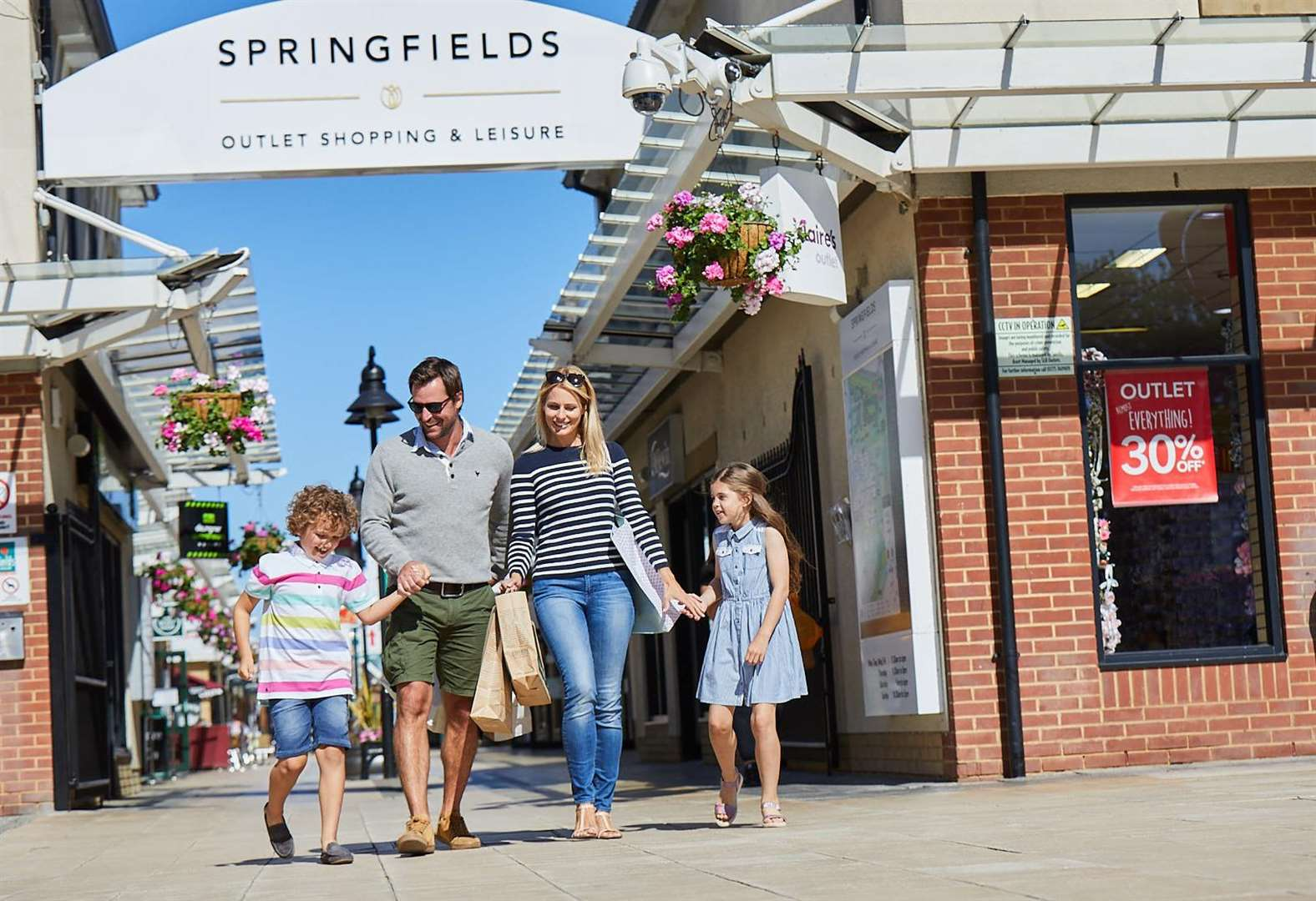 New-look Gap store to be opened at Springfields in Spalding