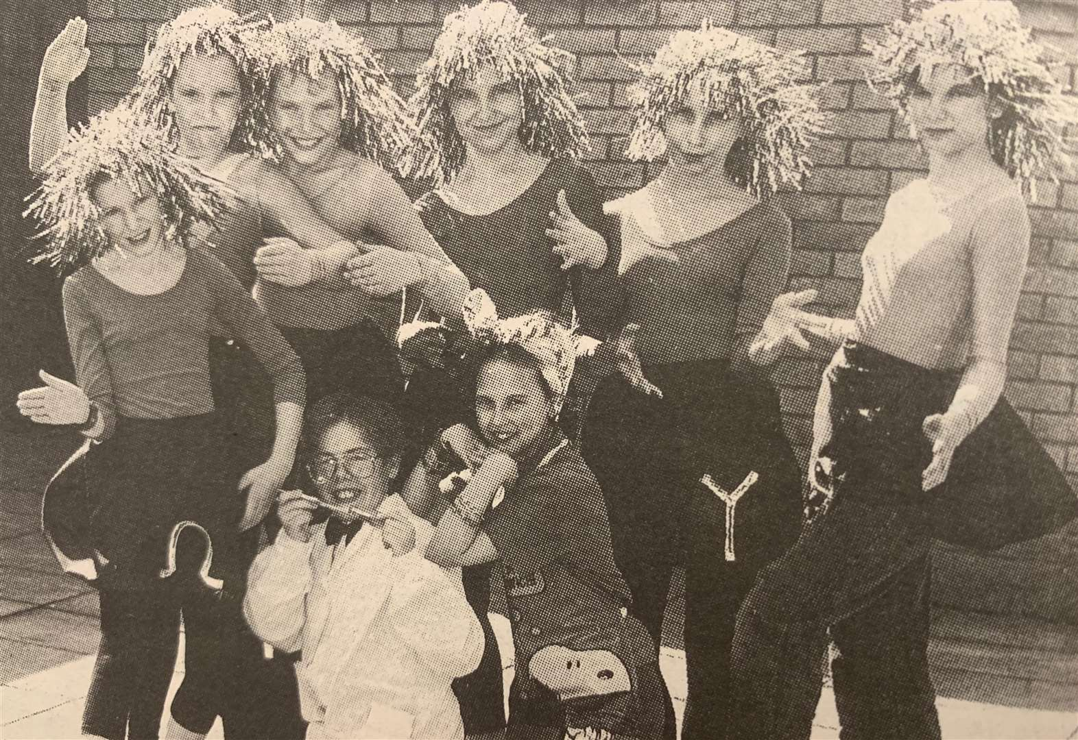 LOOKING BACK: Deepings pupils take to the stage in 1994