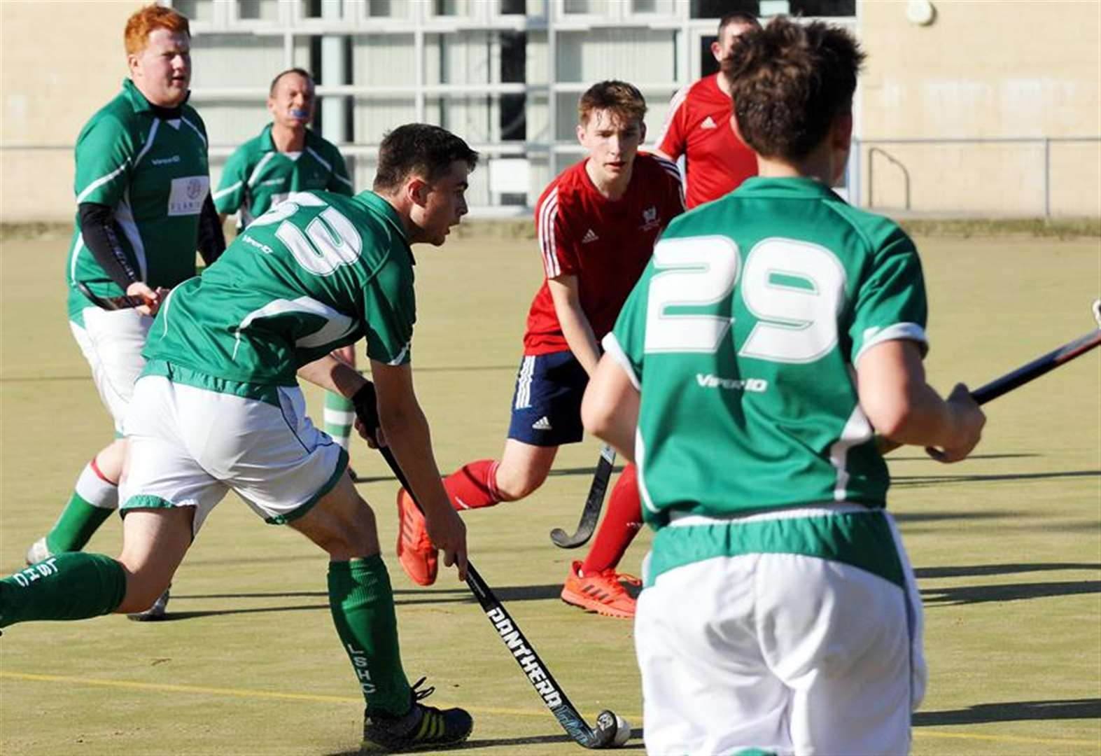 HOCKEY: Josh leads the way from start to finish