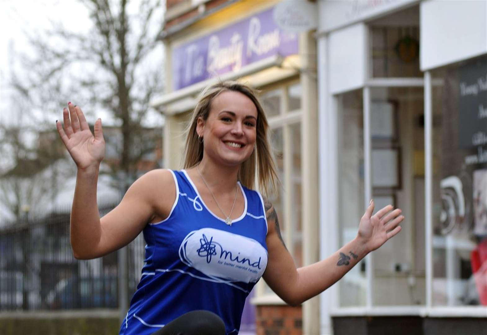 Beauty therapist to run marathon for mental health charity