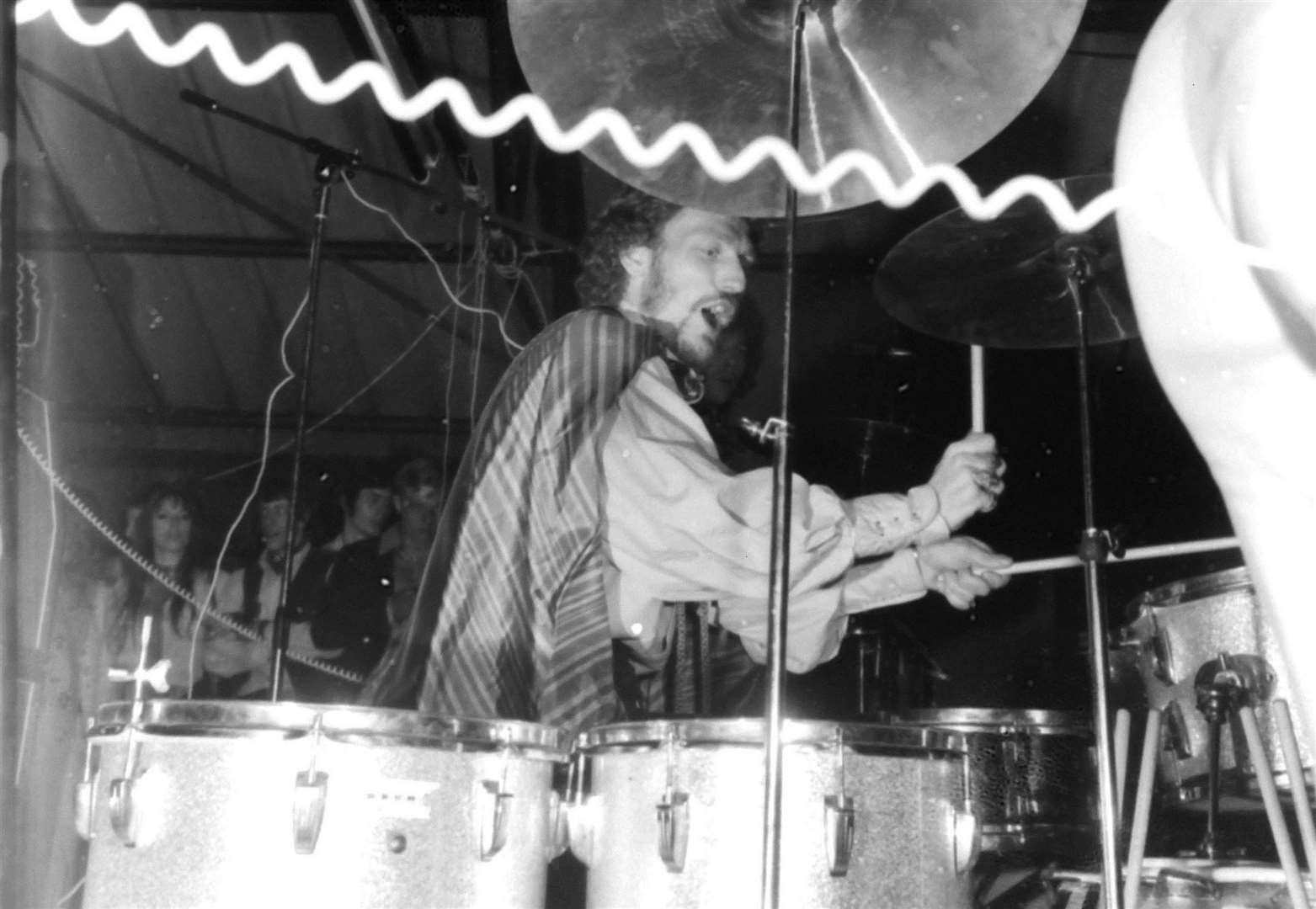 Tribute paid to legendary drummer Ginger Baker who played in Spalding