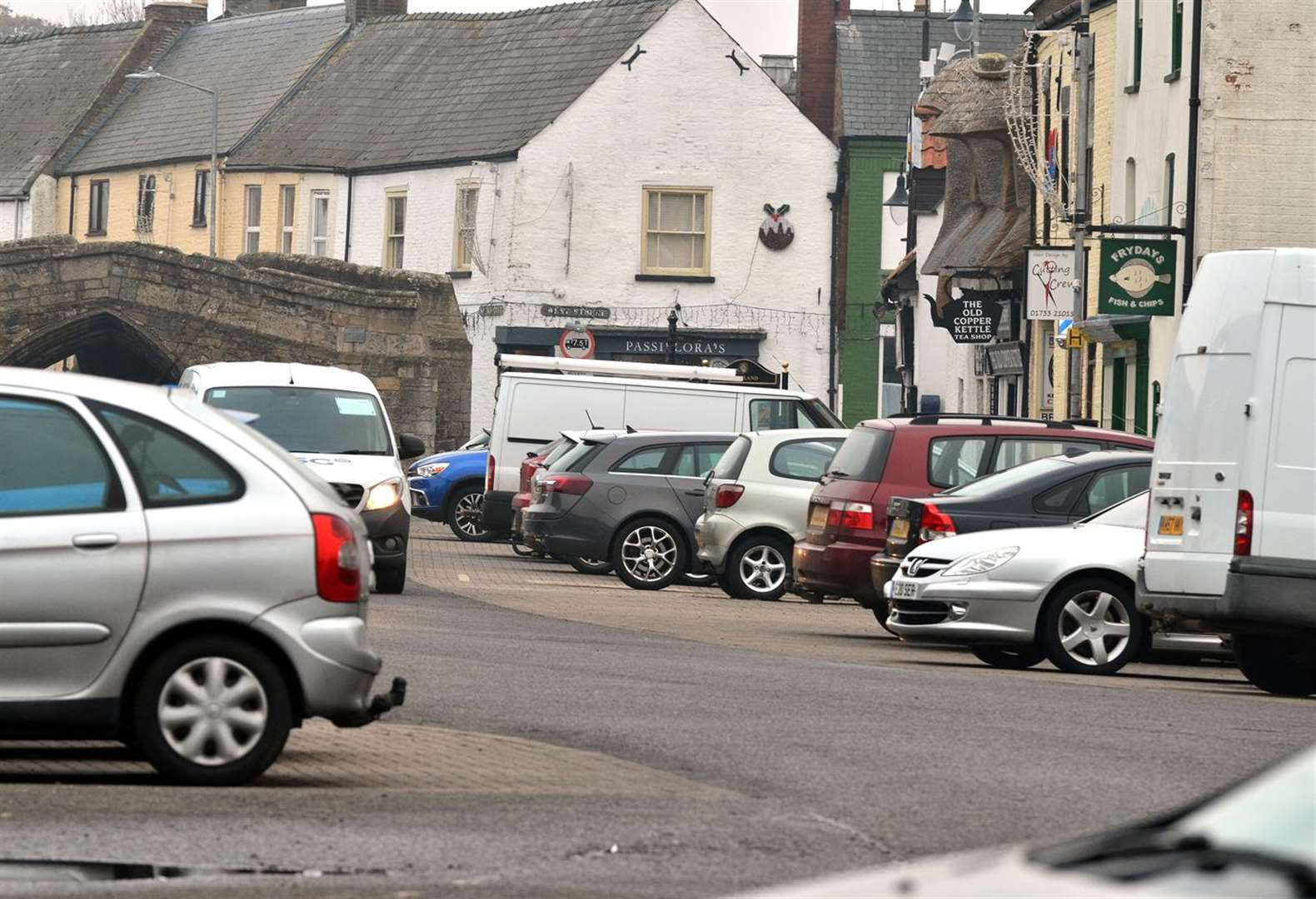 Call for 'radical ideas' to ease Crowland's parking problems