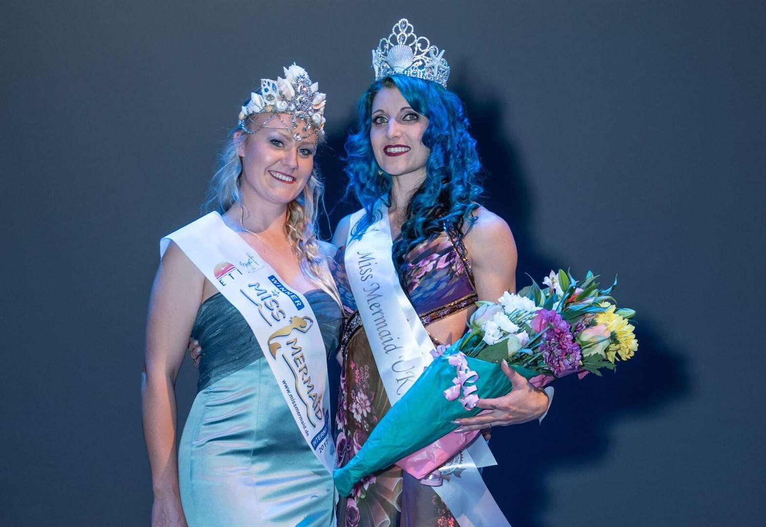 Donington's Laura is England and UK mermaid queen