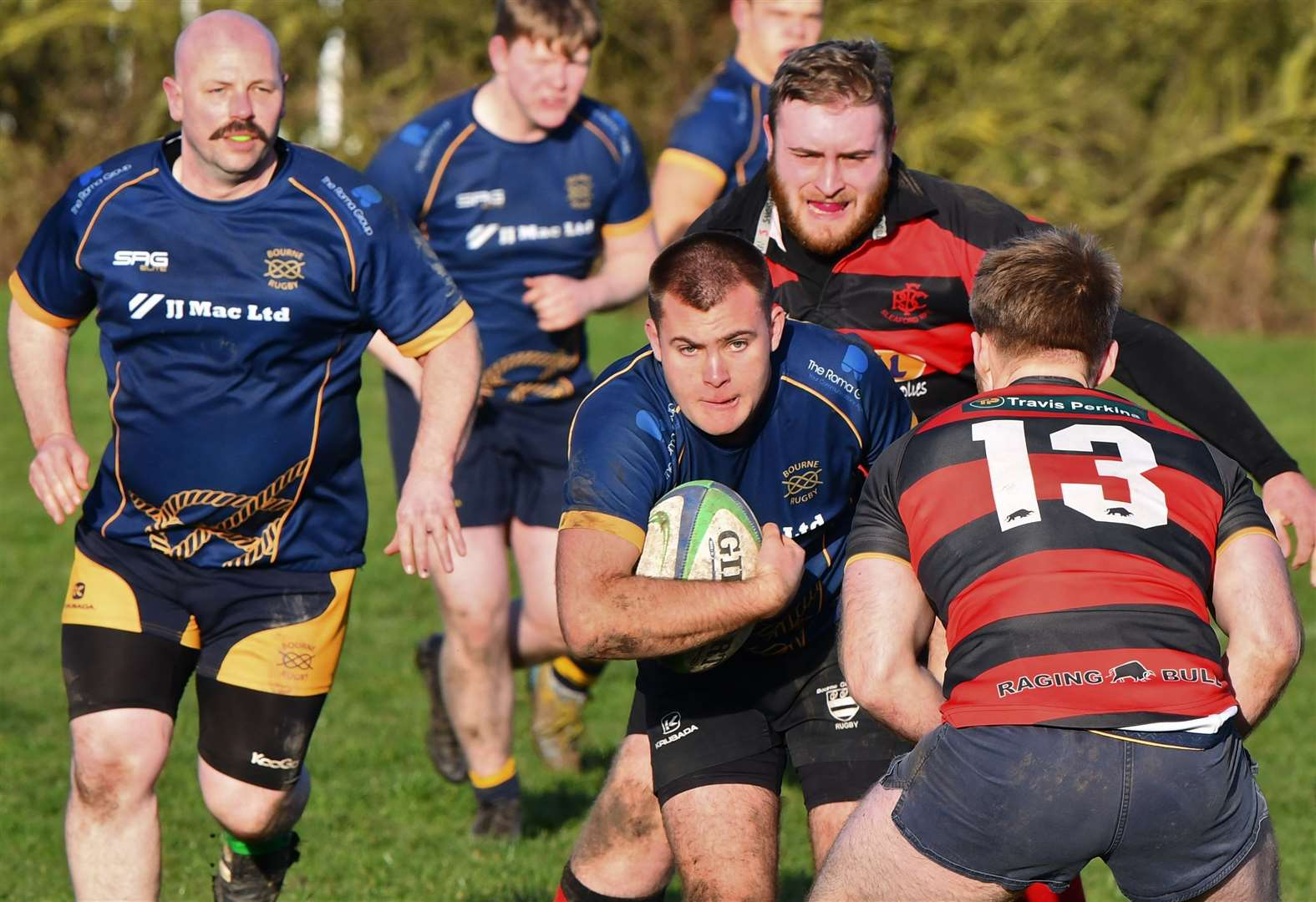 RUGBY UNION: Bourne 2nds almost match Oakham 2nds before injury stops play