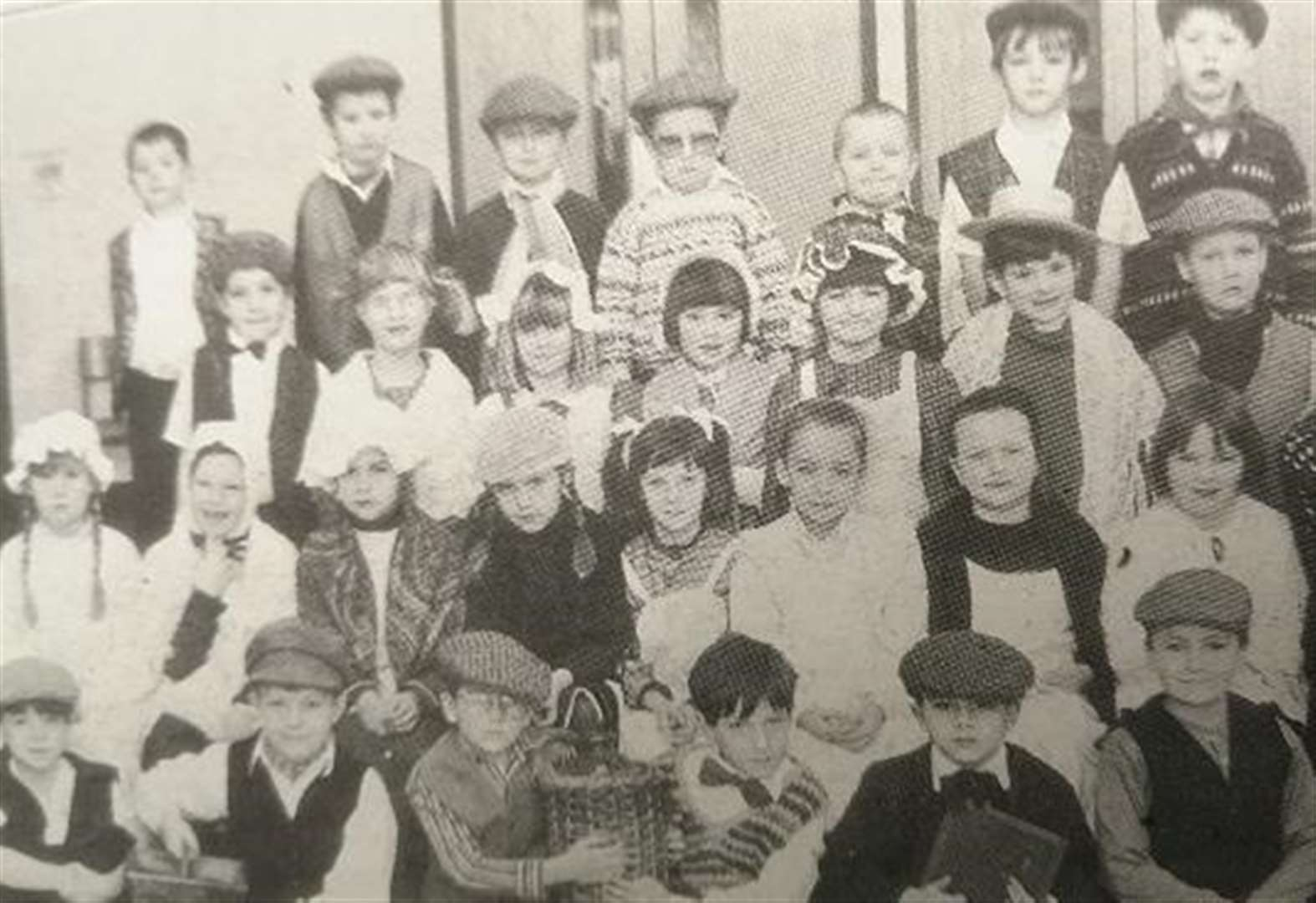 LOOKING BACK: Children go back to Victorian times