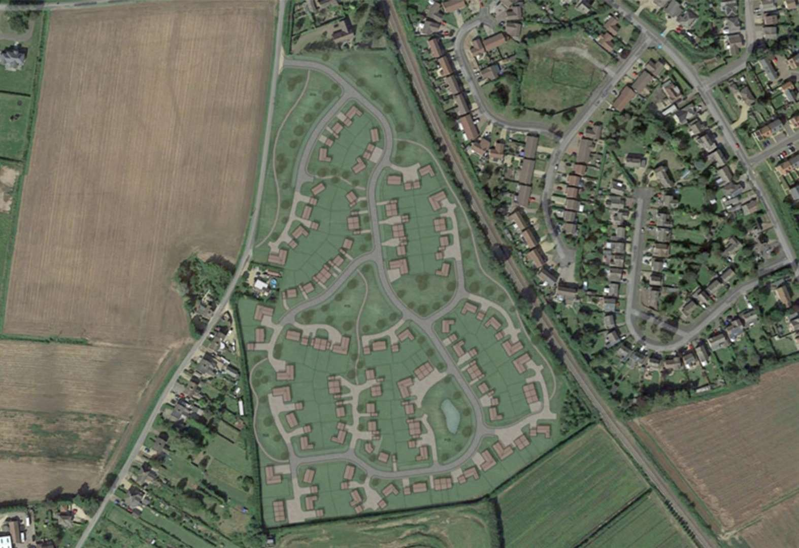Plan for 100 new homes on Pinchbeck nursery approved