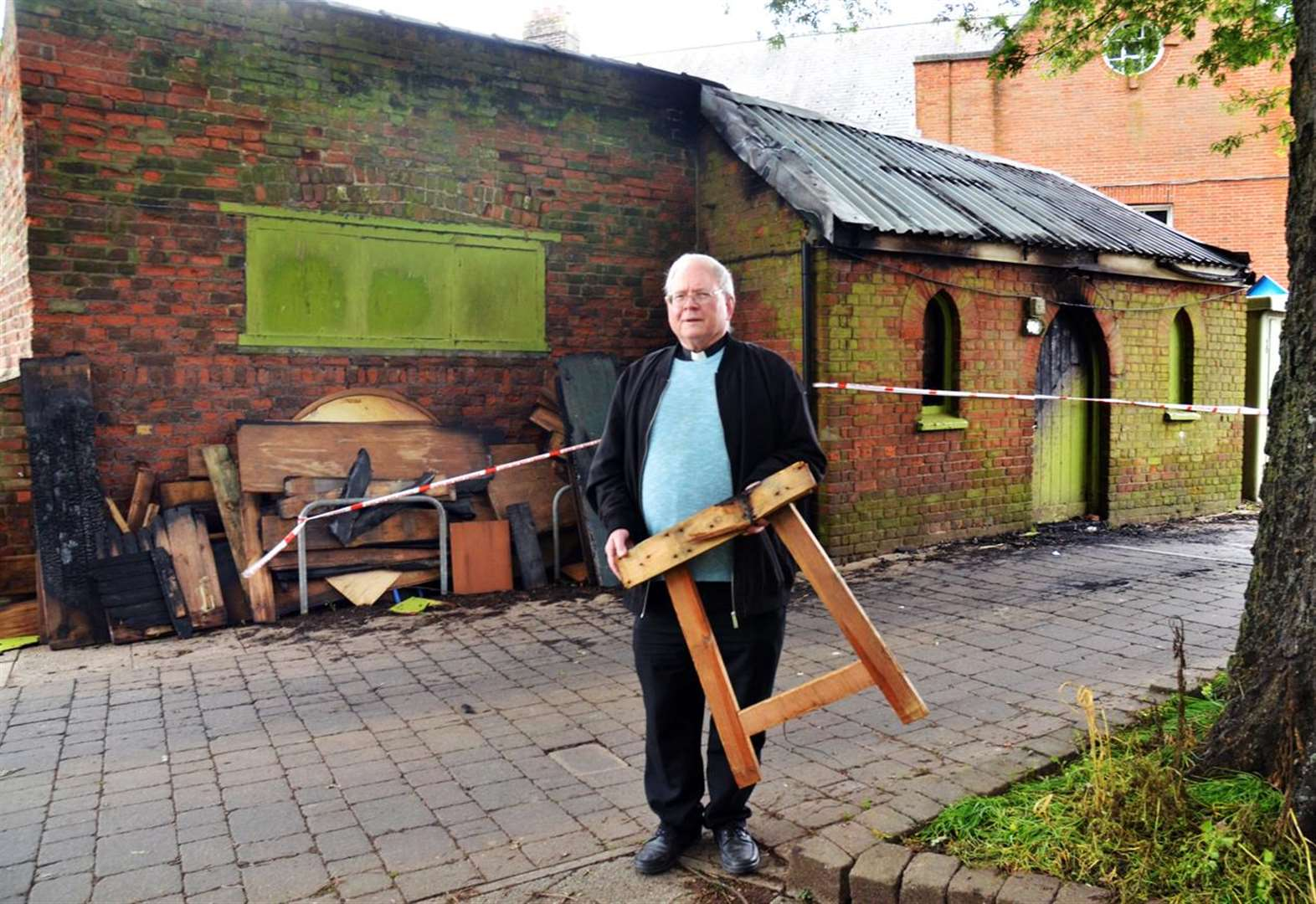 Long Sutton Church is reeling from arson attack