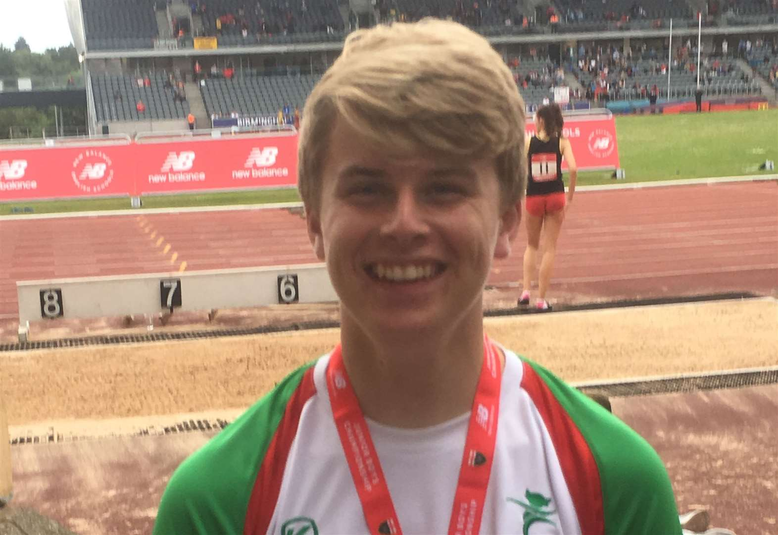 Capes is the hottest shot at English Schools Athletics Championships