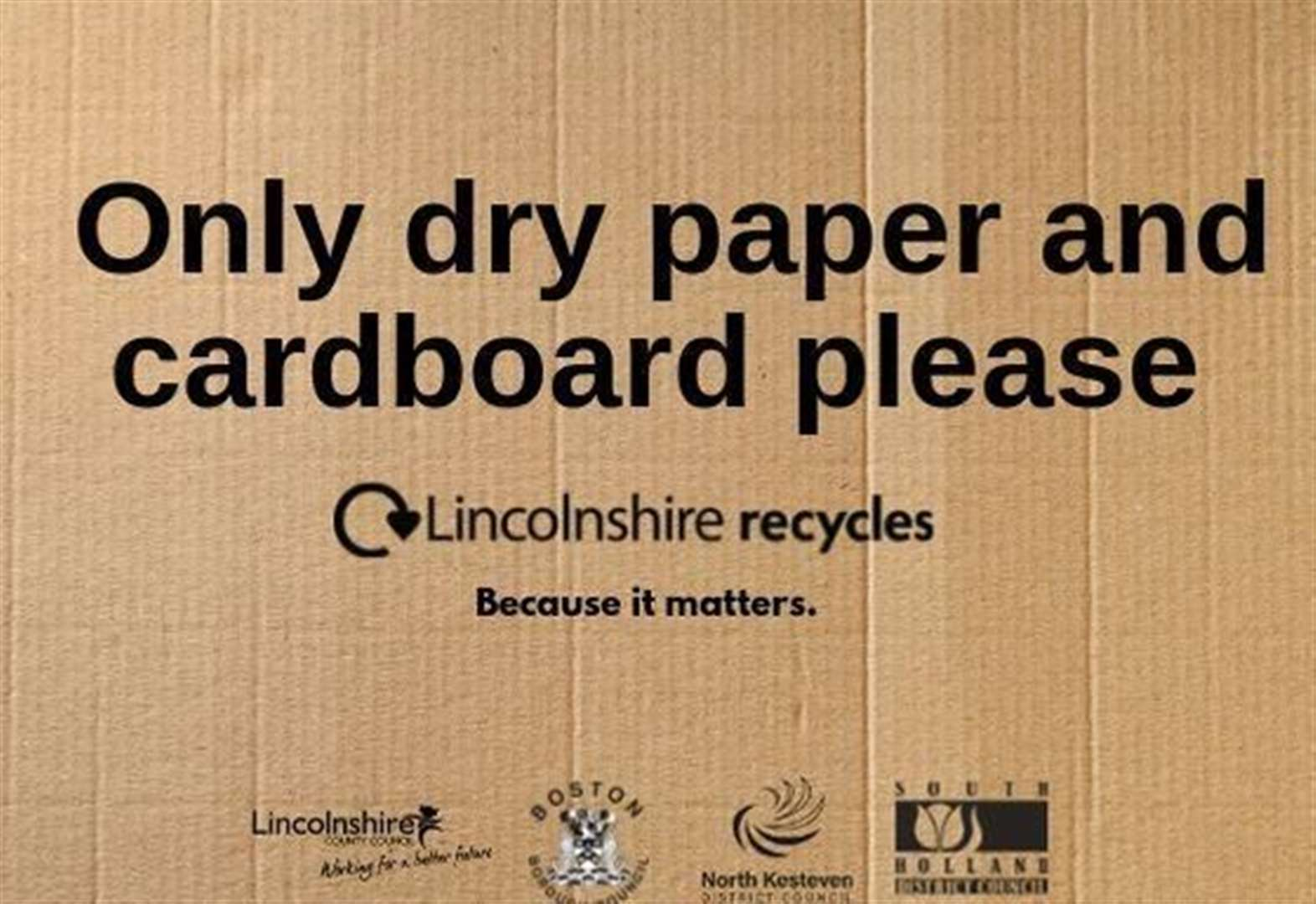New paper and card recycling trial set to start at the end of this month