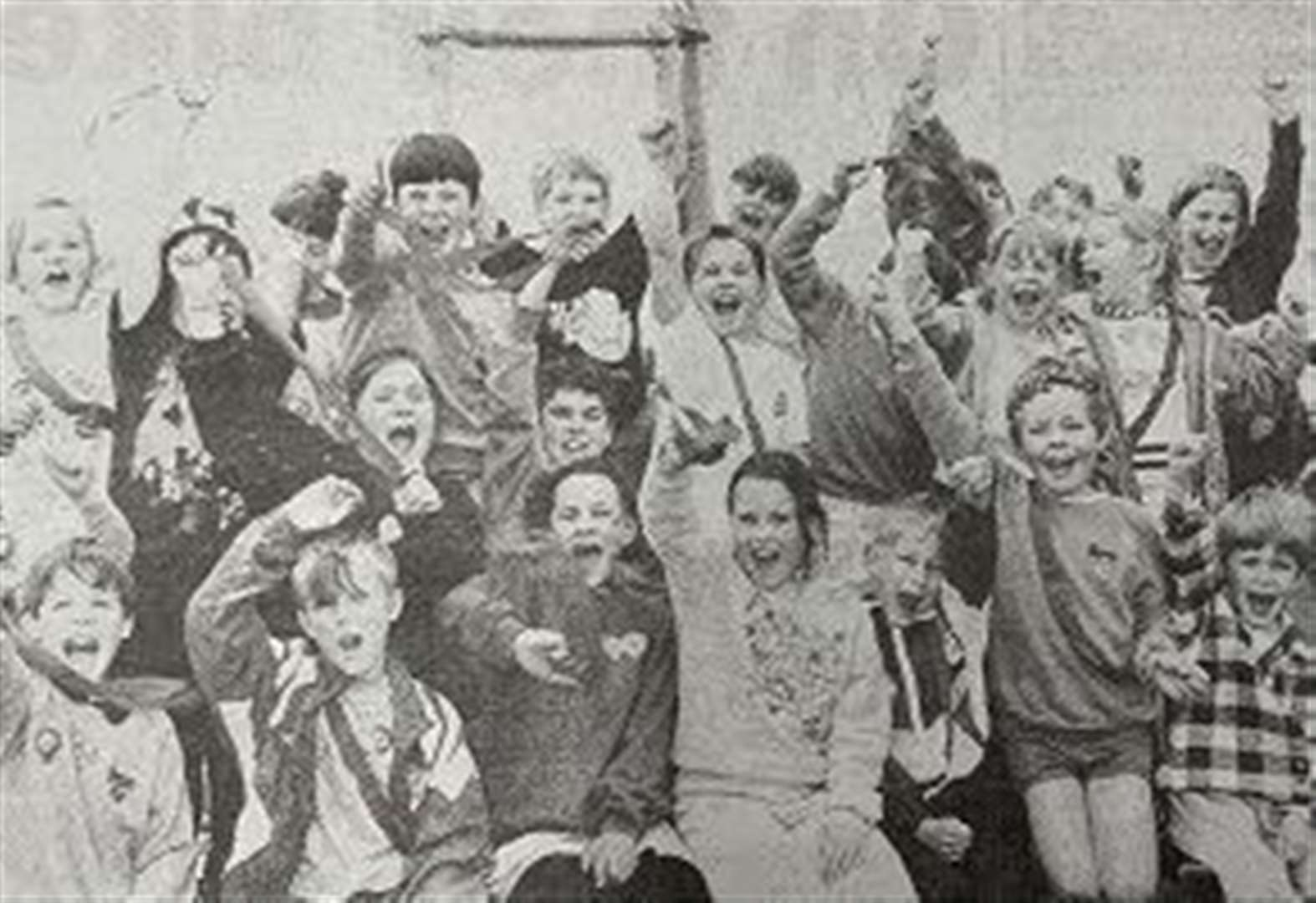 NOSTALGIA: Cold can't stop Cowbit pupils' sports day fun 25 years ago