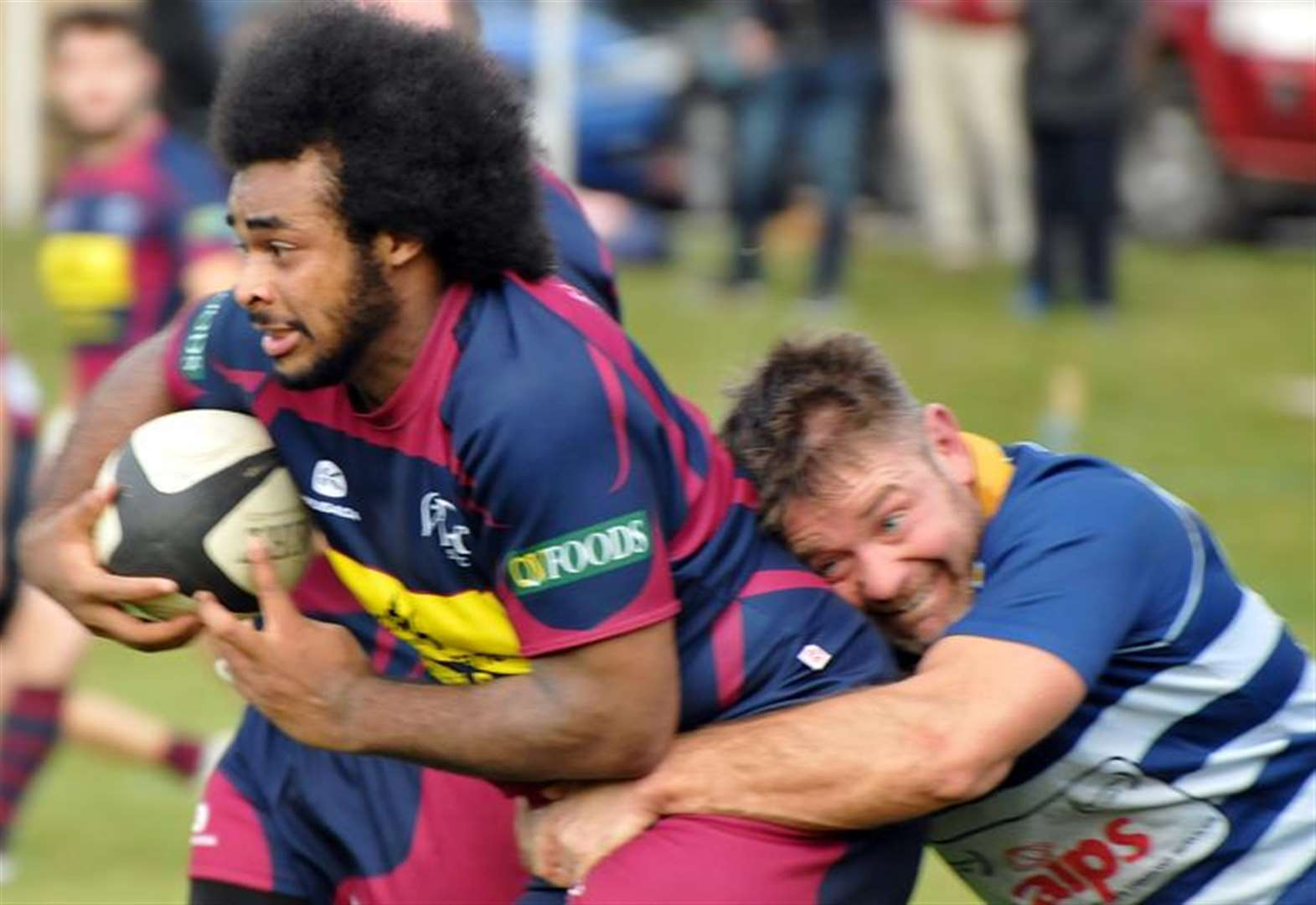 RUGBY UNION: Spalding earn first away win of season