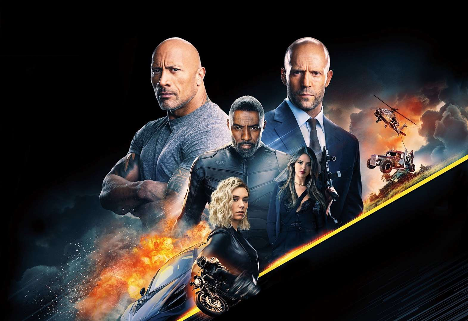 FILM REVIEW: Hobbs & Shaw (12A)
