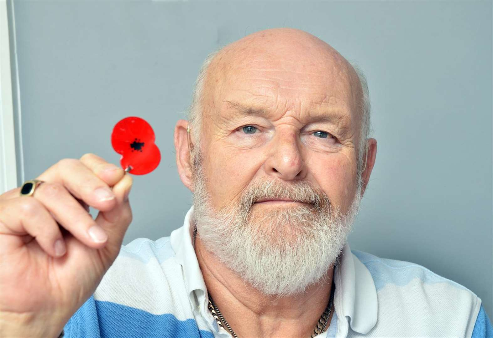 Poppy Appeal stalwart Peter carries on campaign while recovering from heart attack
