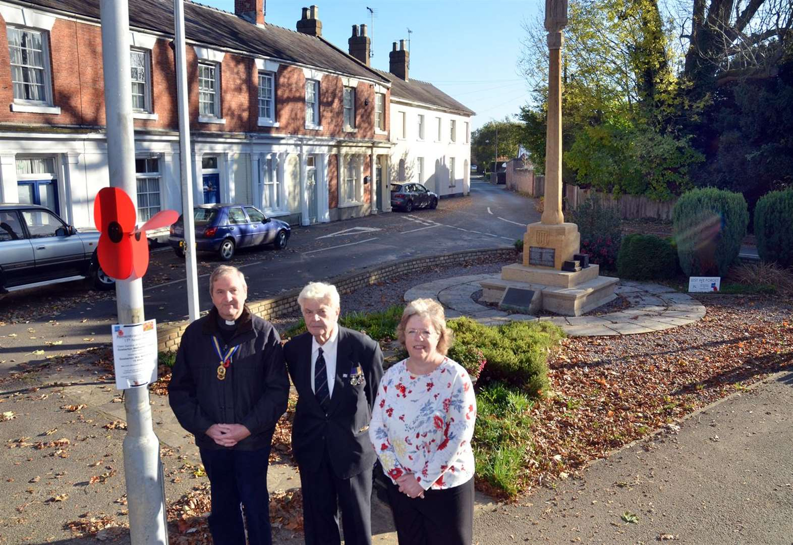 Plan to clean up village war memorial after inspection