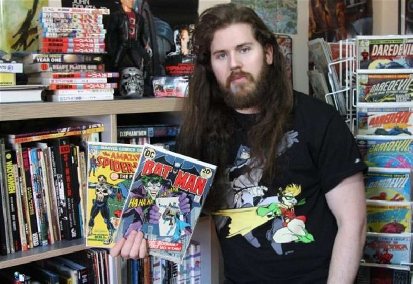 Alex brings new comic shop to Pinchbeck