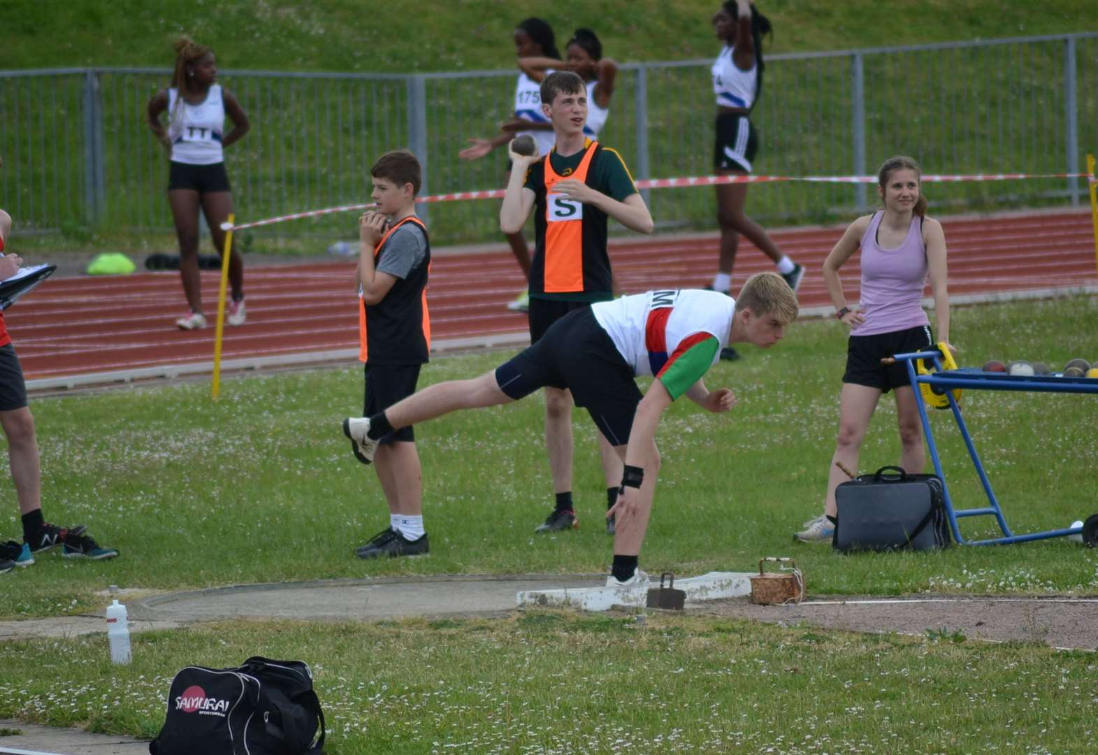ATHLETICS: Capes sets new East Anglian League record